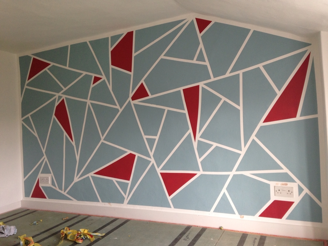 #90610 Intended For Most Up To Date Geometric Shapes Wall Accents (View 1 of 15)