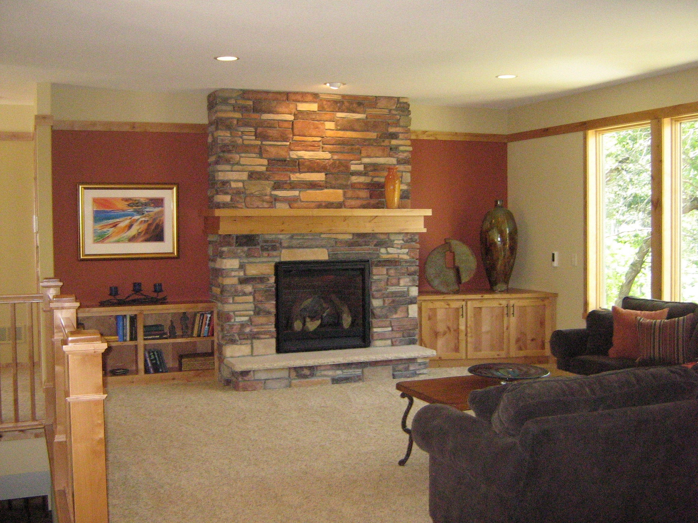 A Little Design Help Within Widely Used Wall Accents For Fireplace (Gallery 2 of 15)