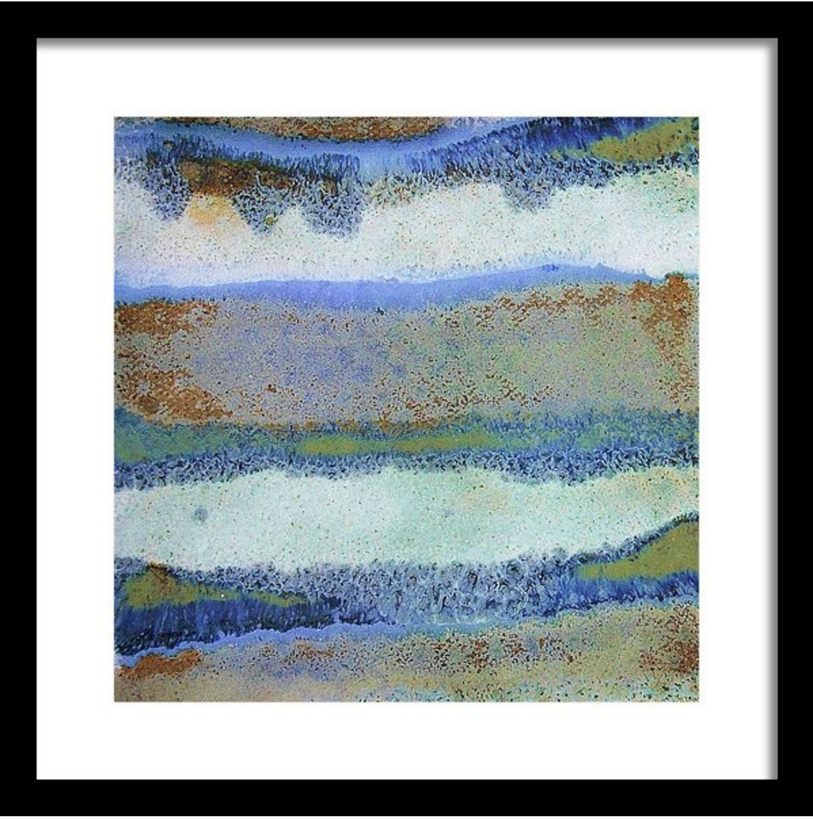 Abstract Framed Wall Art – Square #33 (Gallery 6 of 15)