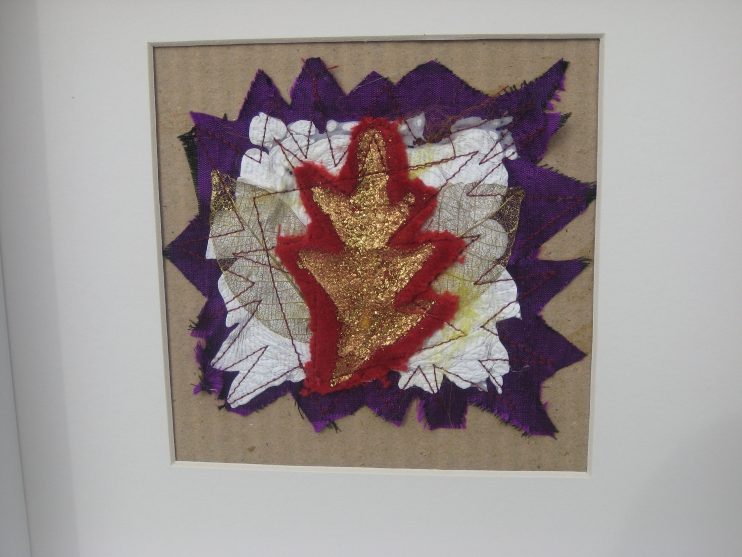 Abstract Textile Wall Art With Regard To 2017 Textile Wall Art Picturetextile Art Mixed Media Picture Textile (Gallery 11 of 15)