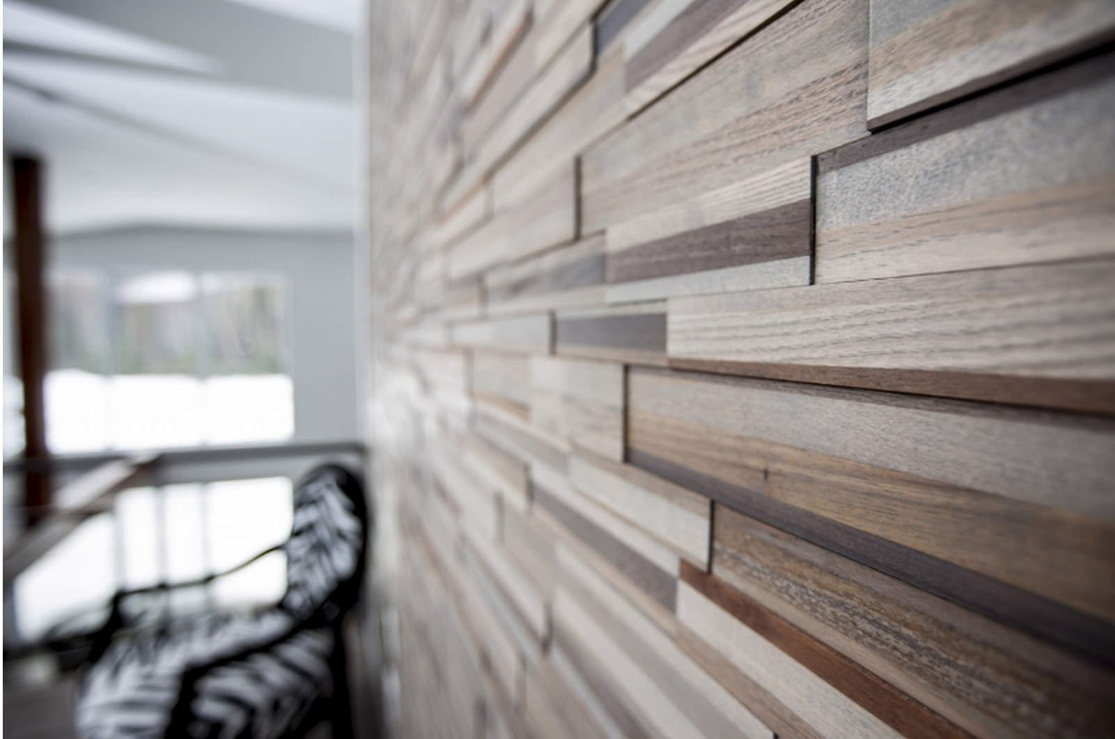 Add A Warm, Contemporary Look To Any Room With Easy Diy Multi Intended For Fashionable Wood Paneling Wall Accents (Gallery 2 of 15)