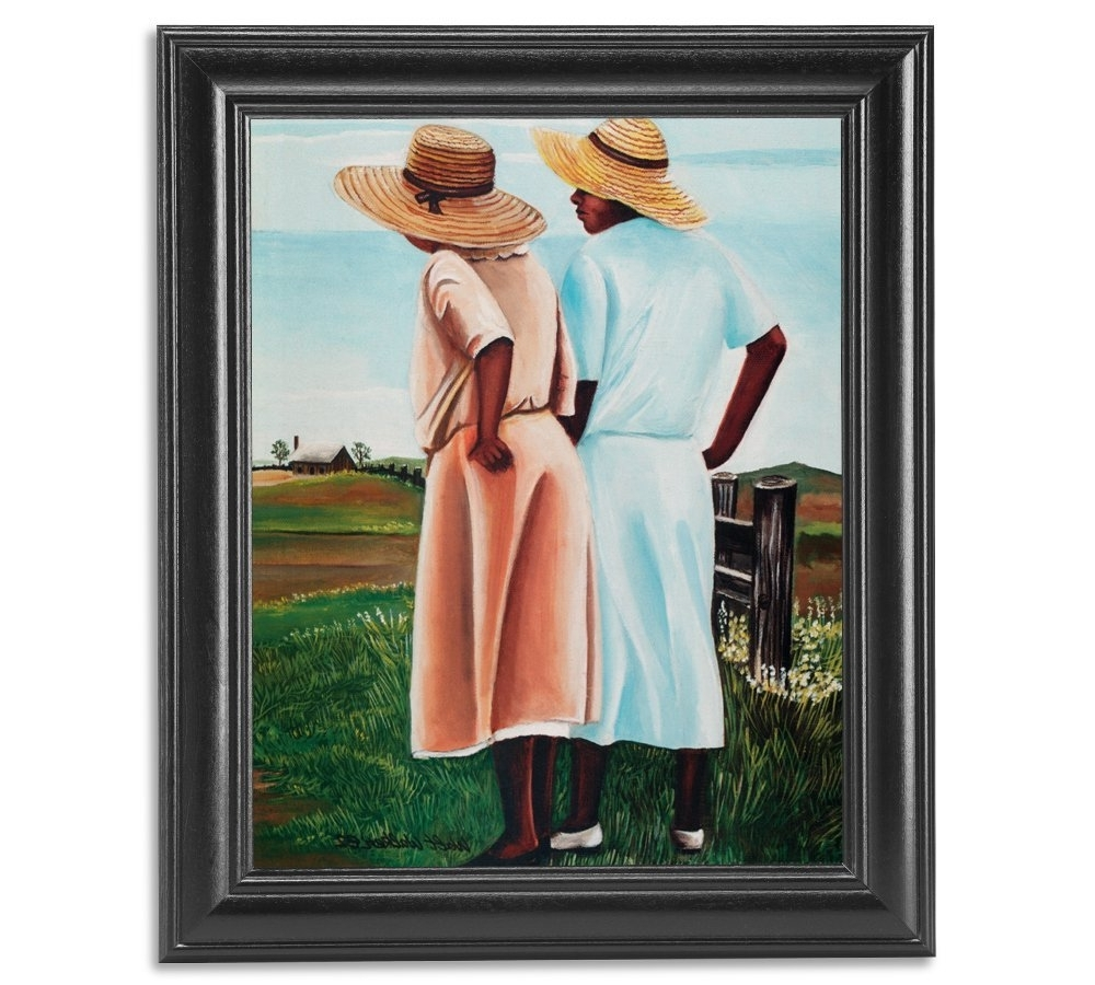 Amazon: African American Sistersfence On Farm Wall Picture In Recent Framed African American Art Prints (View 6 of 15)