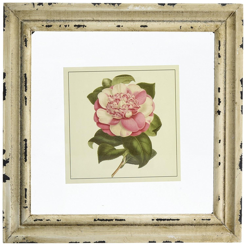 Amazon: Imax 47338 4 Lynette Framed Artwork, Set Of 4: Framed Throughout Latest Shabby Chic Framed Art Prints (View 1 of 15)