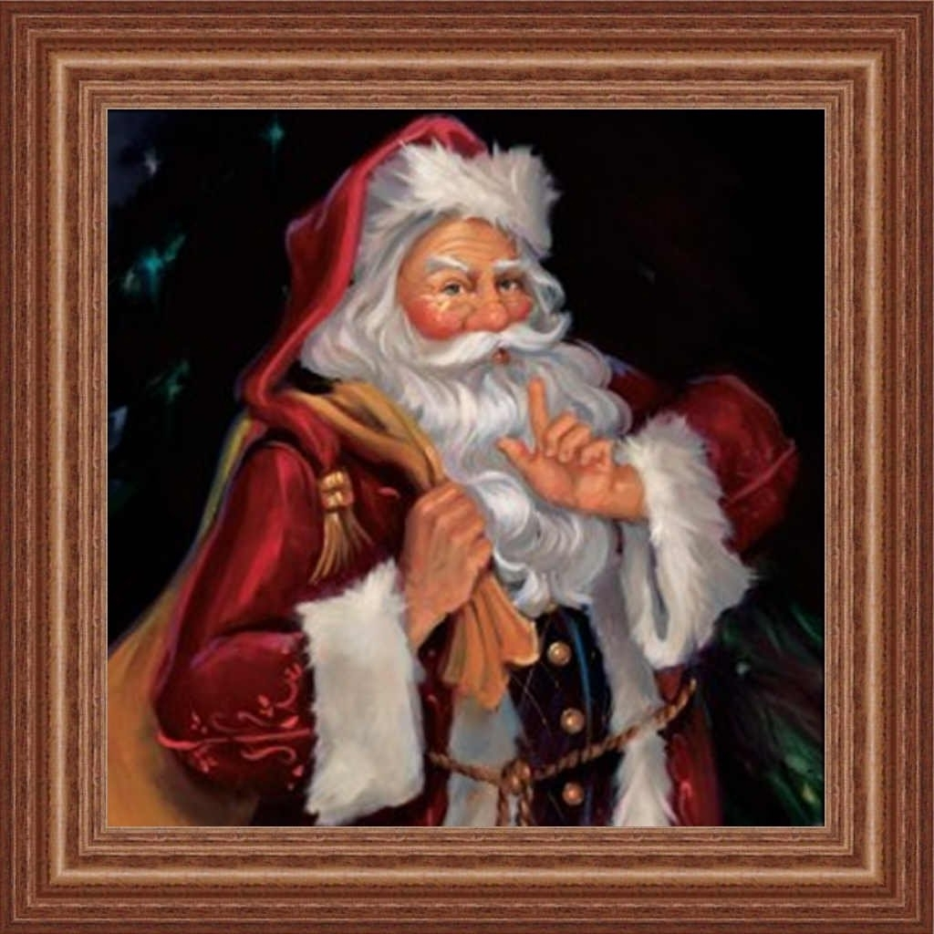15 photos christmas framed art prints amazon shhh santasusan comish old fashioned mr view 1 of 15 jeuxipadfo Choice Image