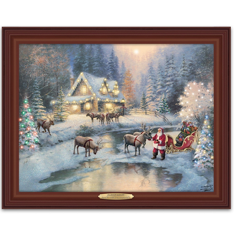 15 photos christmas framed art prints for Christmas wall art amazon
