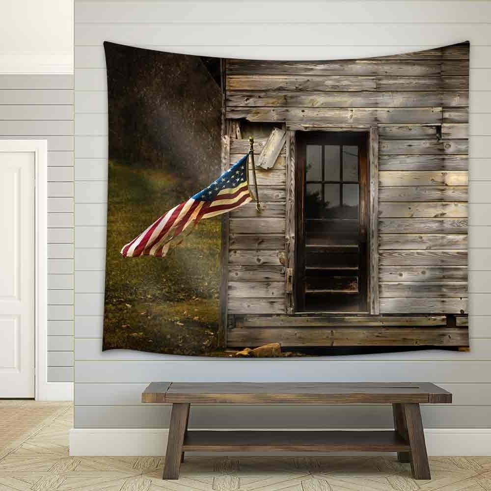 American Flag Fabric Wall Art Pertaining To Popular Wall26 – Art Prints – Framed Art – Canvas Prints – Greeting (View 4 of 15)