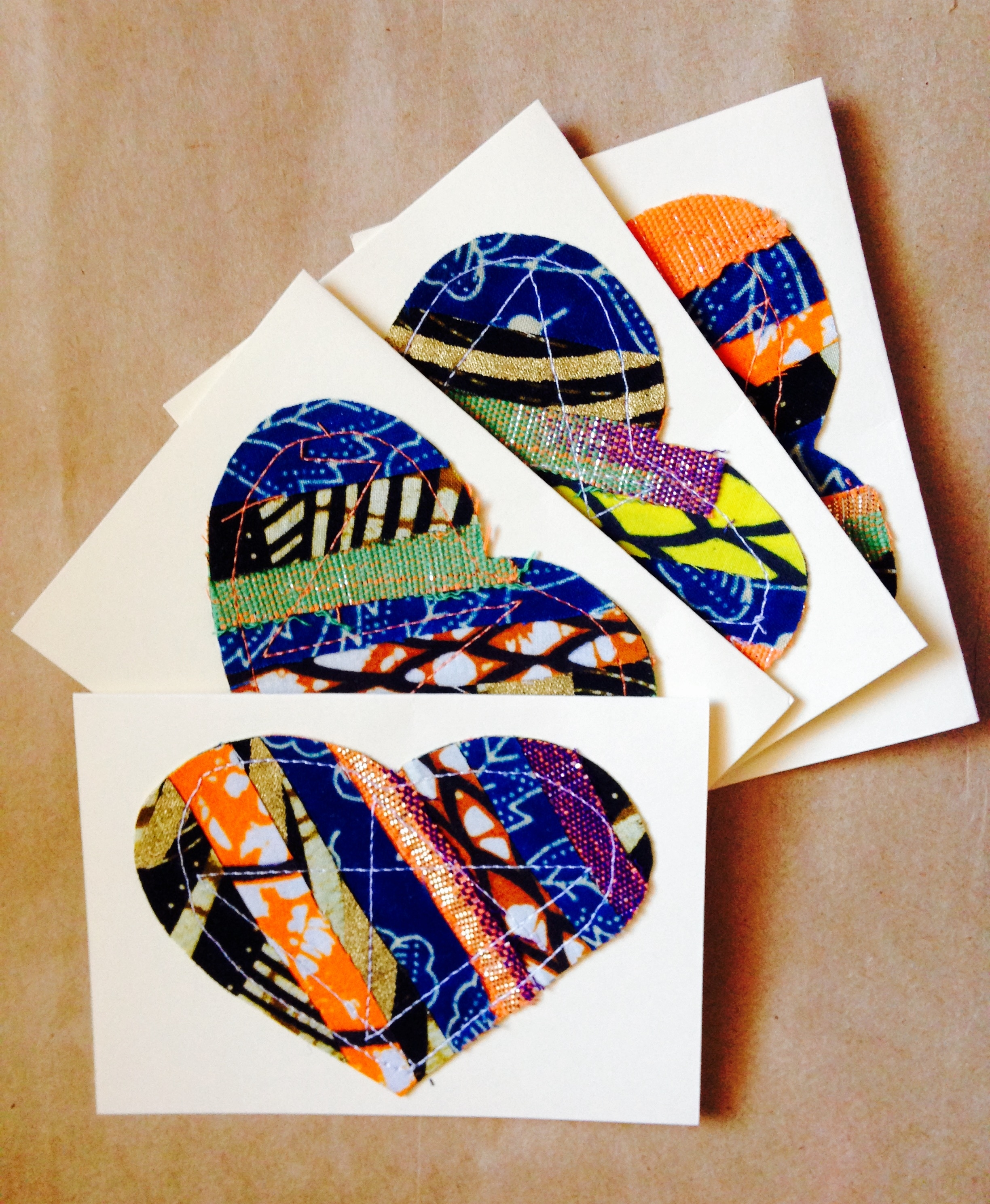 Ankara Fabric Wall Art In Well Known Beautiful African Wax Print (Ankara) Notecards. African Fabric (Gallery 13 of 15)