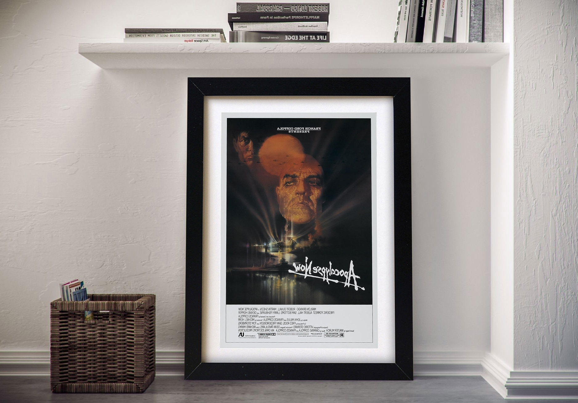Apocalypse Now Movie Poster Print On Canvas Geelong Australia Within Most Up To Date Geelong Canvas Wall Art (View 2 of 15)