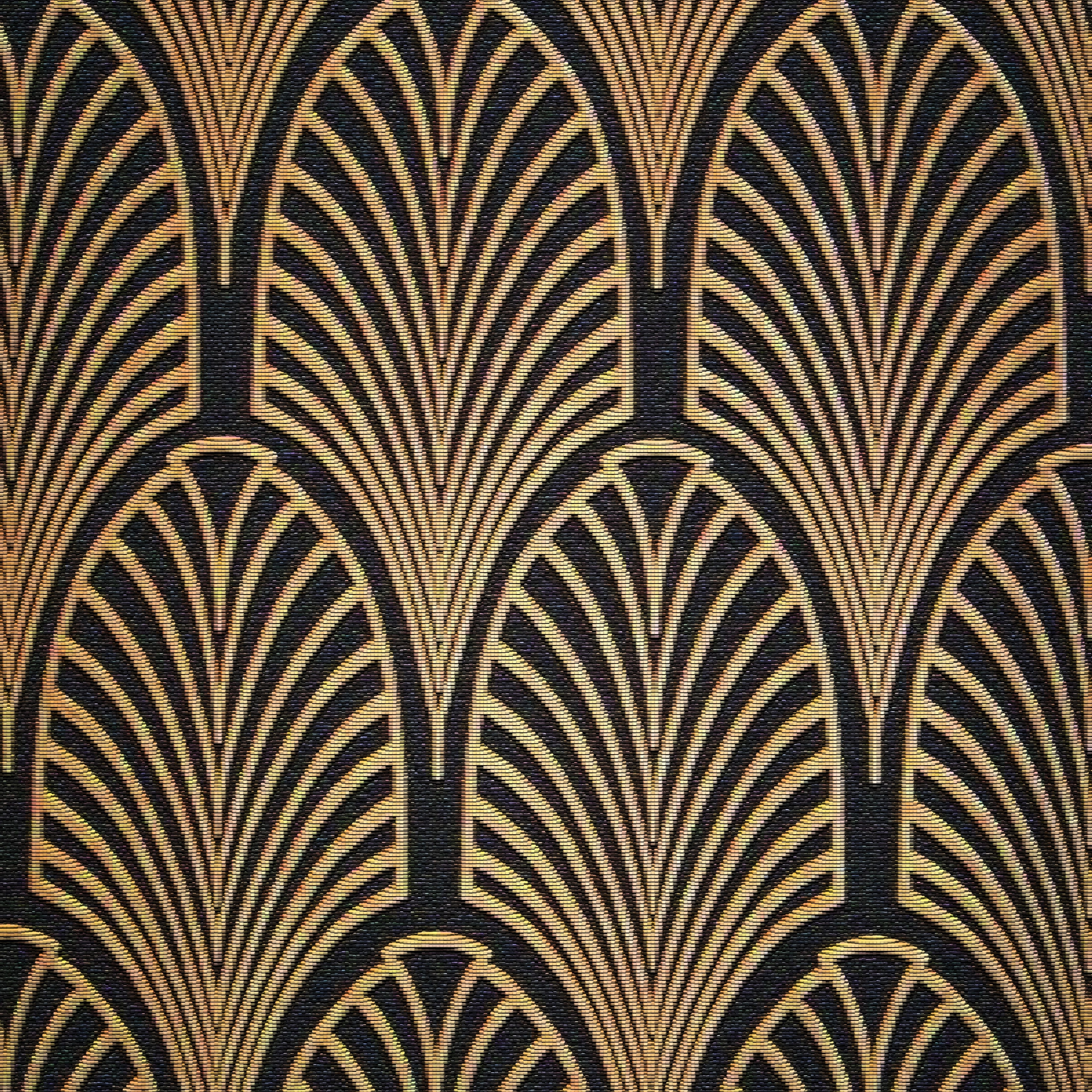 Art Deco Fabric, Art Deco And Fabrics (View 14 of 15)