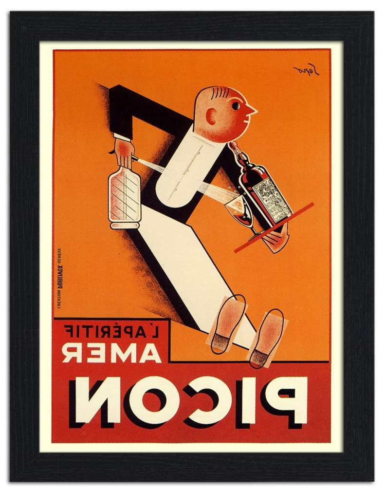 Art Deco Posters Regarding Widely Used Framed Art Deco Prints (View 3 of 15)