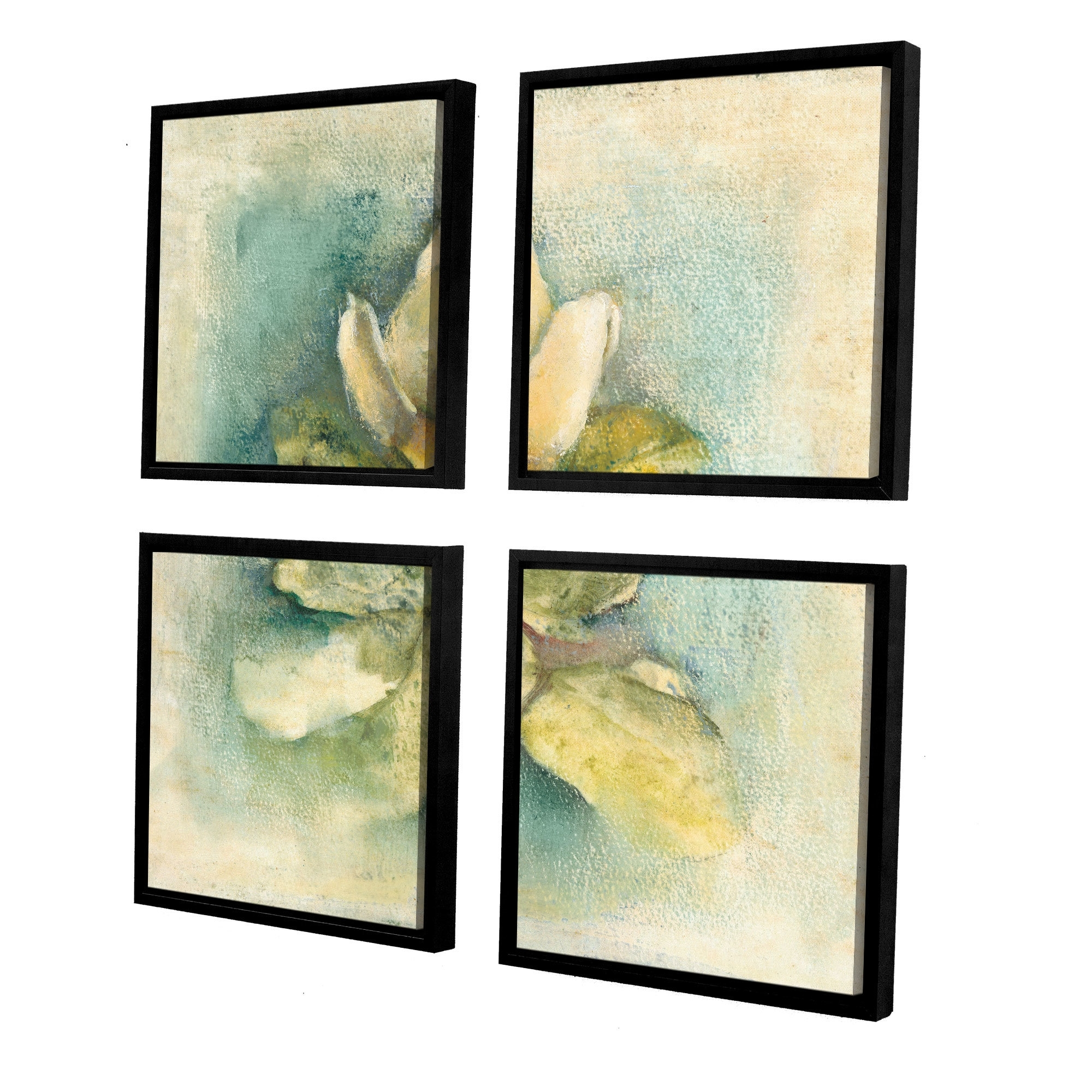 Artwall 'french Magnolia'cheri Blum 4 Piece Framed Painting In Current Cheri Blum Framed Art Prints (View 2 of 15)