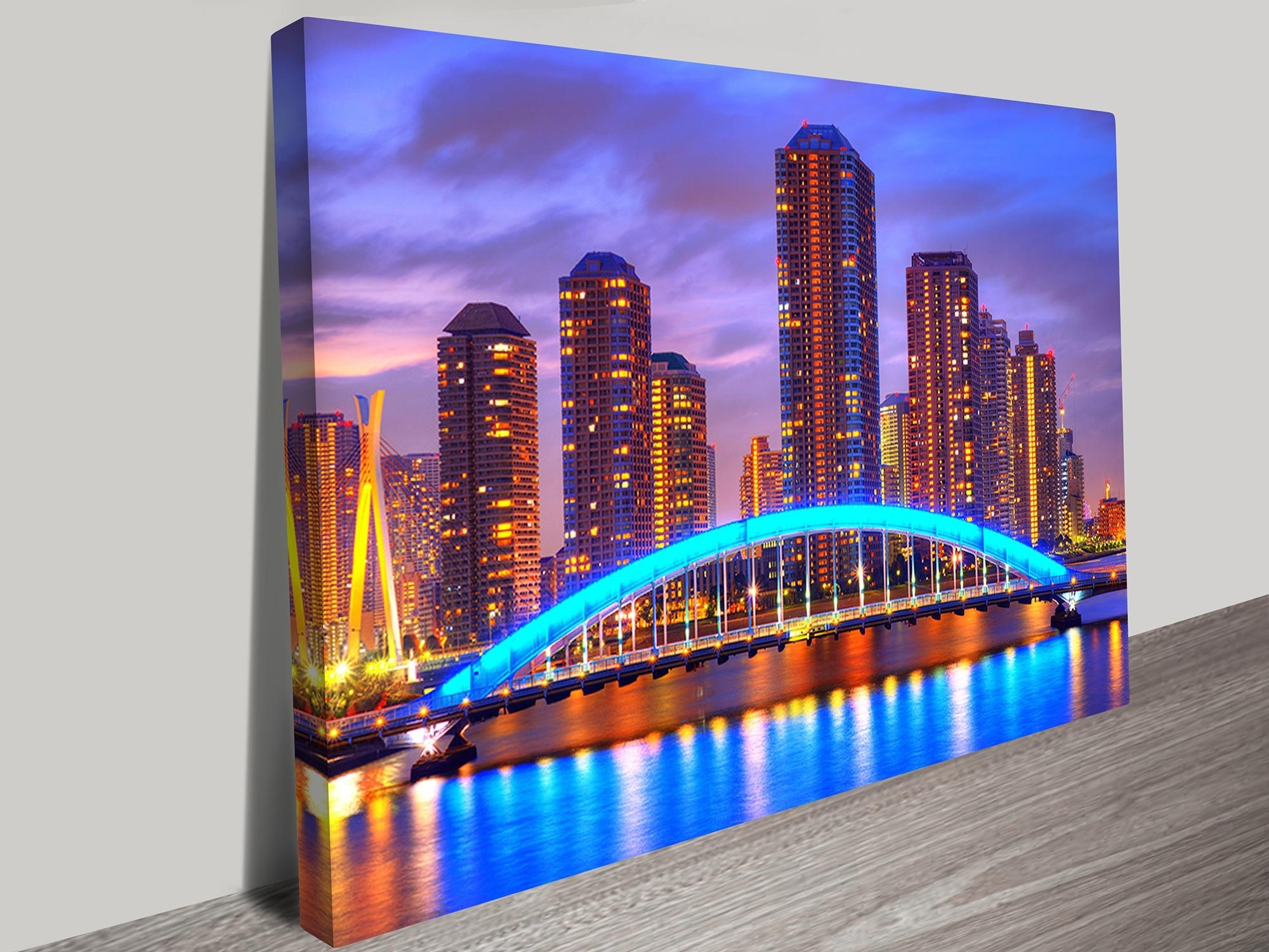 At Night Canvas Prints Australia Pertaining To Fashionable Canvas Wall Art In Melbourne (Gallery 4 of 15)