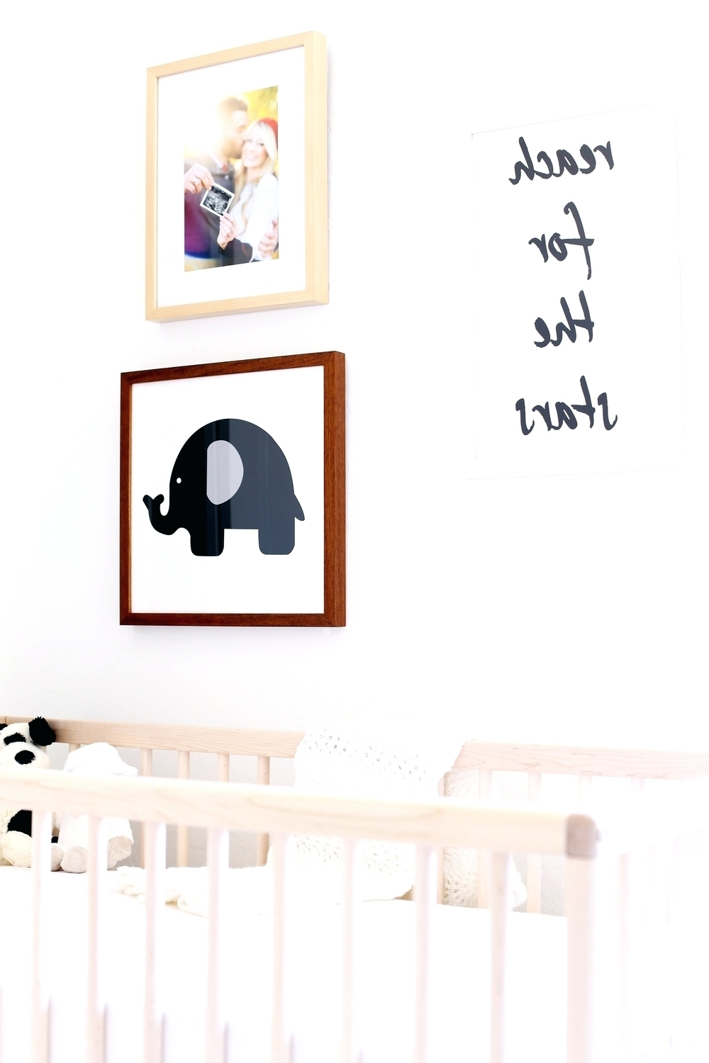 Baby Names Canvas Wall Art Intended For Most Recent Wall Arts ~ Baby Elephant Wall Art For Nursery Nursery Wall Art (View 4 of 15)