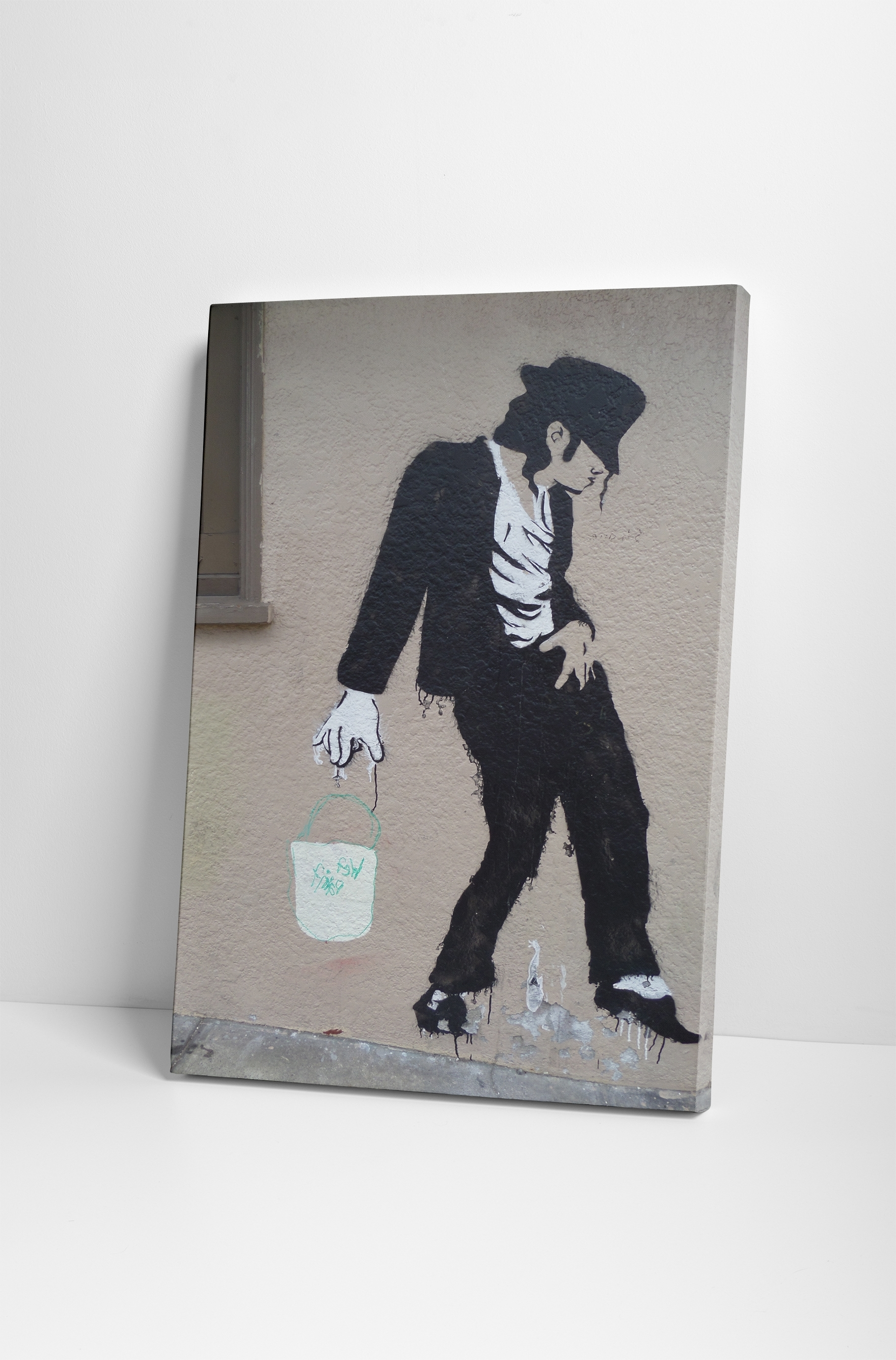 Banksy Michael Jackson Canvas Wall Art For Most Recent Michael Jackson Canvas Wall Art (Gallery 13 of 15)