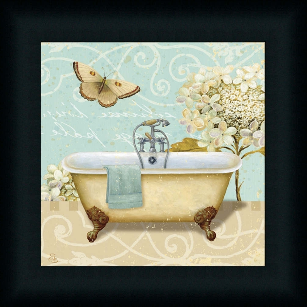 Bathroom Wall Art Decoration Ideas Tags : Bathroom Framed Art With Well Known Framed Art Prints For Bathroom (Gallery 9 of 15)