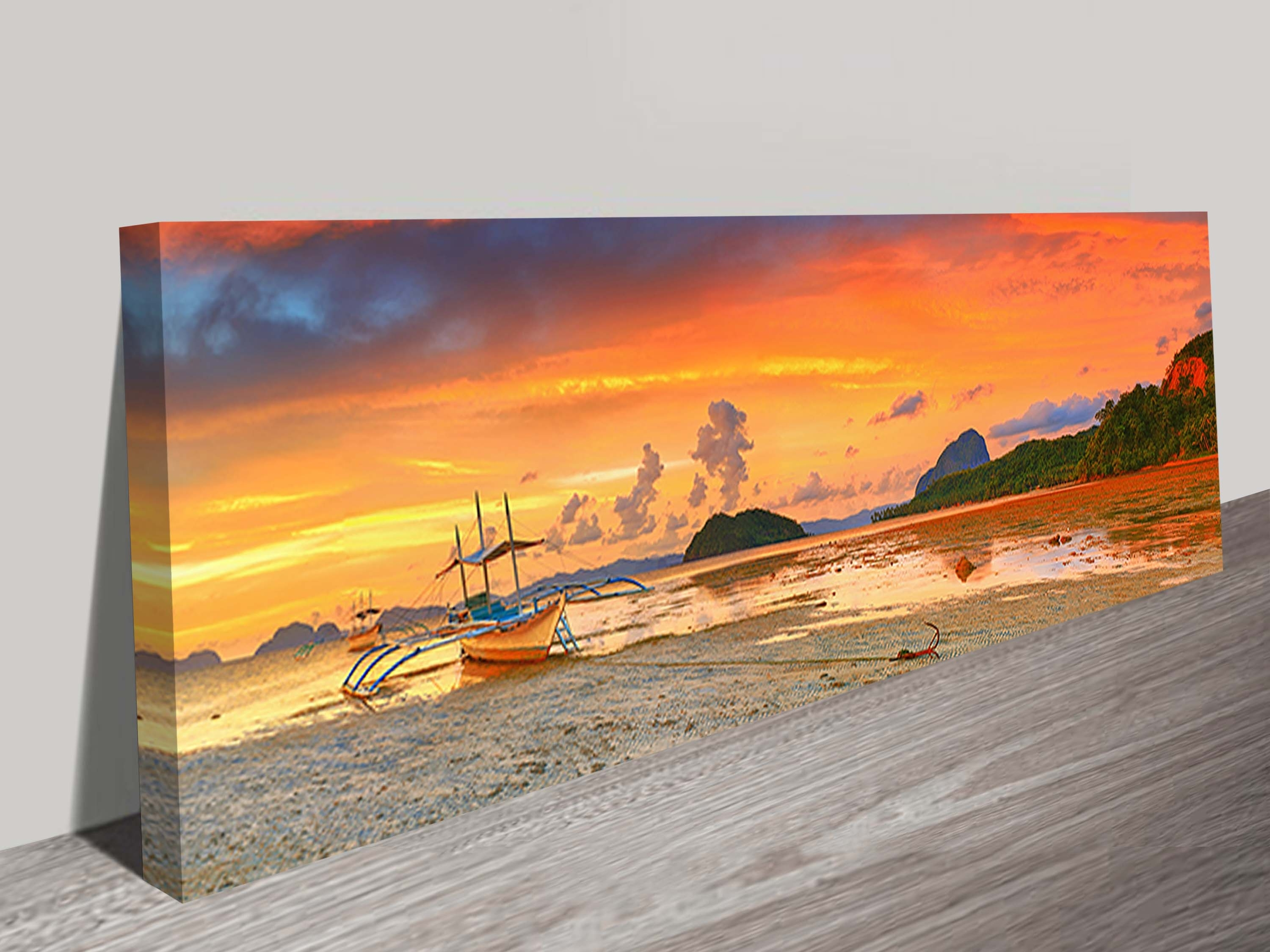 Beaches Archives – Blue Horizon Prints Regarding Most Popular Canvas Wall Art Of Philippines (View 3 of 15)