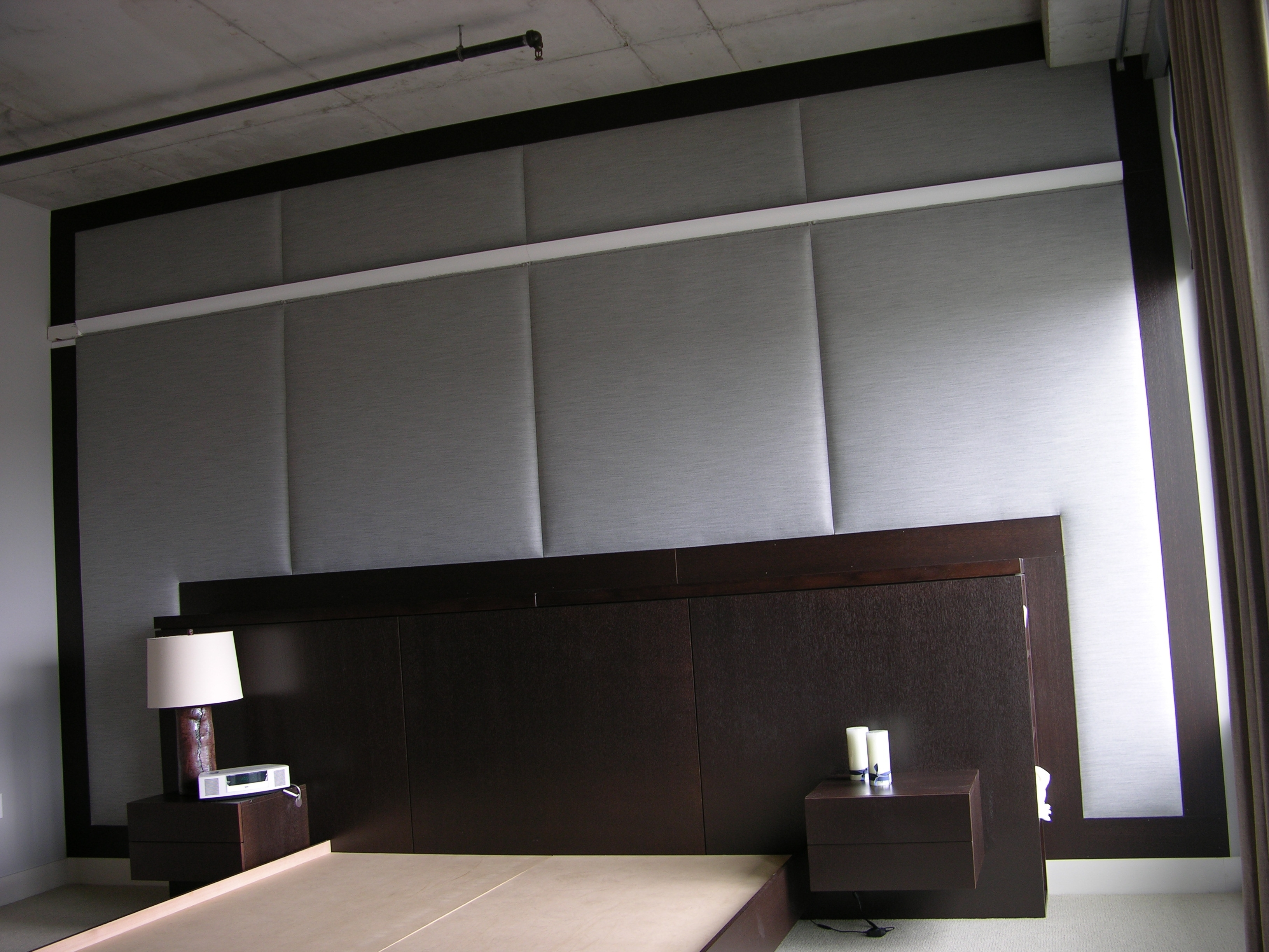 Beautiful Fabric Wall Upholstery For With Regard To Padded Fabric Wall Art (View 4 of 15)