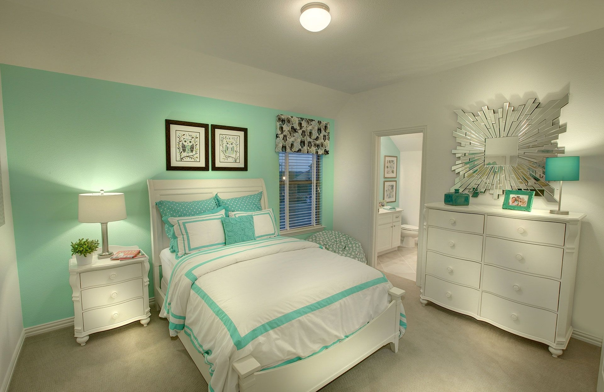 Bedroom Mint Green Bedroom Luxury Bedroom Design Grey And Seafoam In Current Green Room Wall Accents (View 2 of 15)