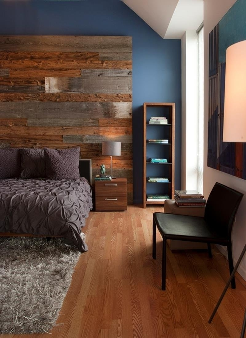 Bedroom Purple Accent Wall Bedroom Ideas Sfdark Purple Bedroom Intended For Well Liked Wall Accents With Laminate Flooring (View 1 of 15)