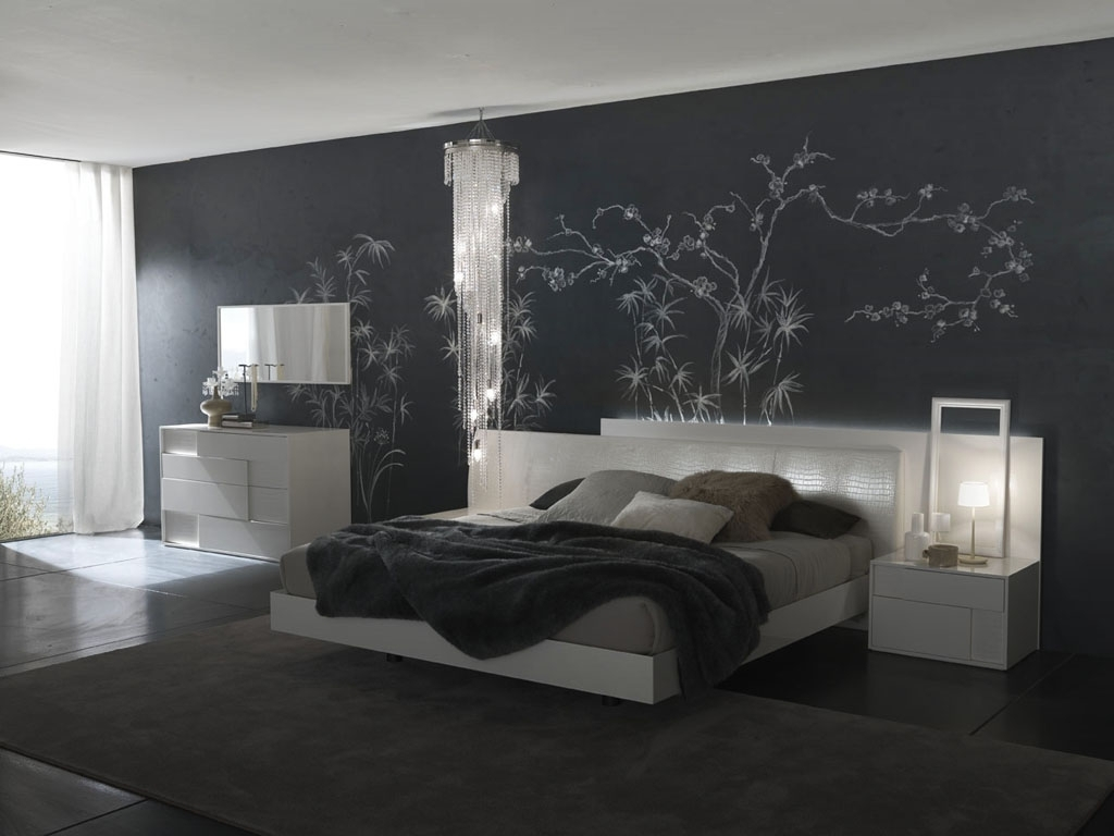 Bedroom Wall Decorating Ideas Entrancing Bedroom Ideas For Walls With Regard To Well Known Wall Accents For Grey Room (View 5 of 15)
