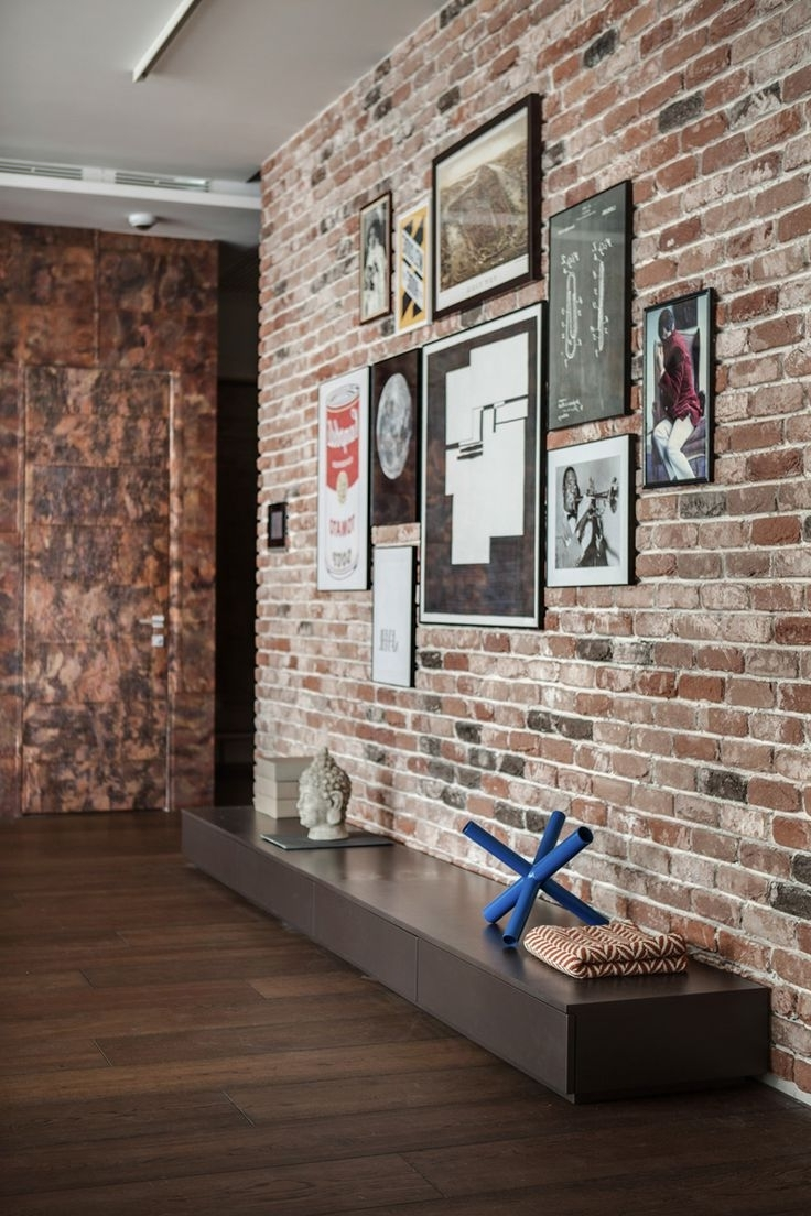 Best 25 Brick Wall Decor Ideas On Pinterest Brick Clips Brick Throughout Most Recently Released Exposed Brick Wall Accents (Gallery 1 of 15)