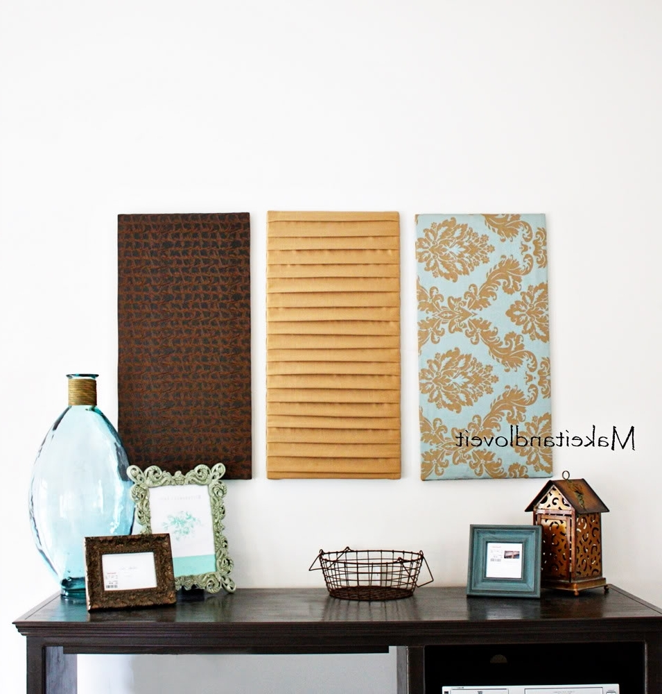 Best And Newest Fabric Wall Art Panels In 33 Fabric Wall Art Panels, Fabric Wall Panels Mini Homemaker (View 1 of 15)