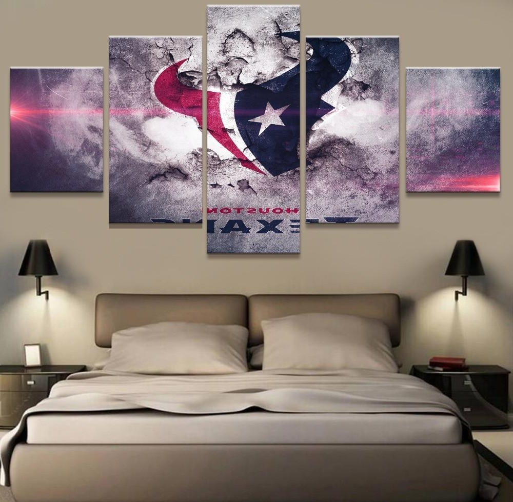 Best And Newest Houston Canvas Wall Art Intended For Houston Texans Poster Paintings On Canvas Wall Art – Best Funny (View 4 of 15)