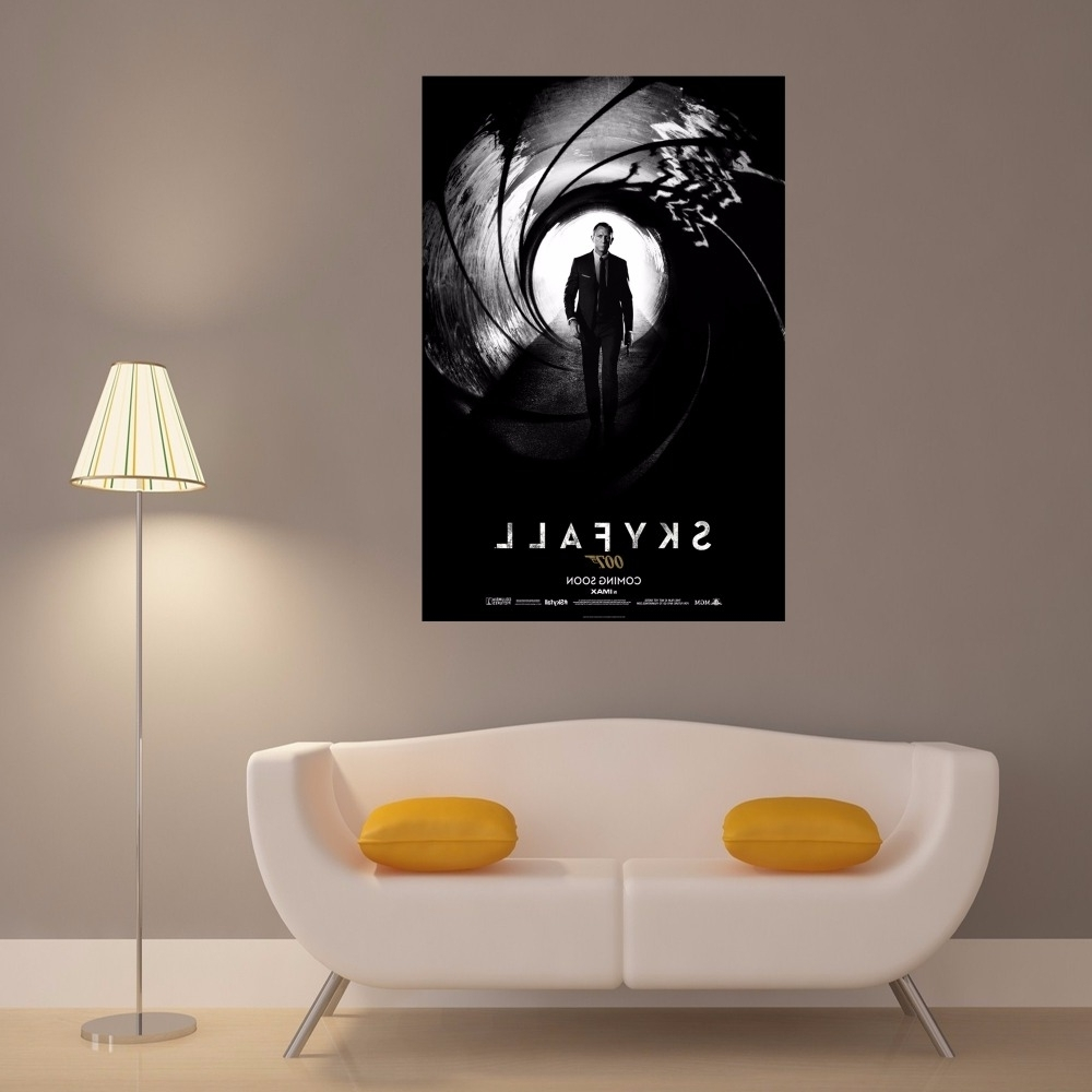 Best And Newest James Bond Canvas Wall Art Intended For Buy 007 Skyfall Poster And Get Free Shipping On Aliexpress (View 1 of 15)