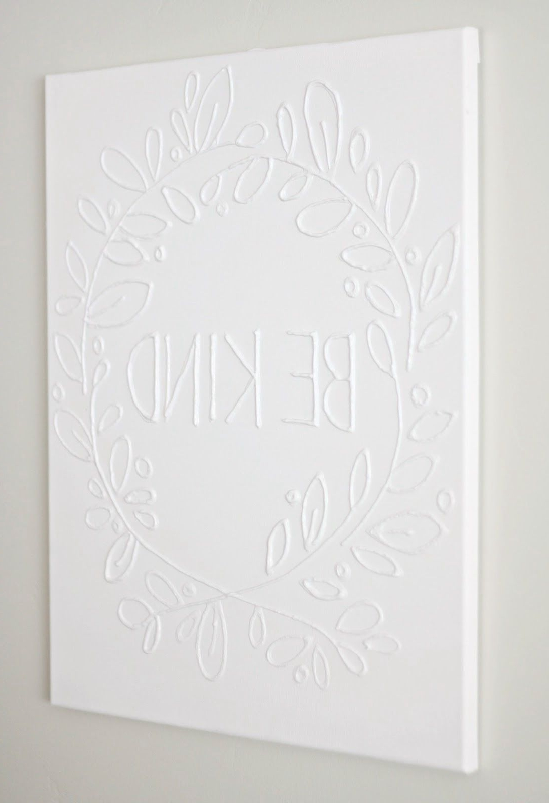 Best And Newest Love Canvas Wall Art For Make Canvas Wall Art With Glue (View 5 of 15)