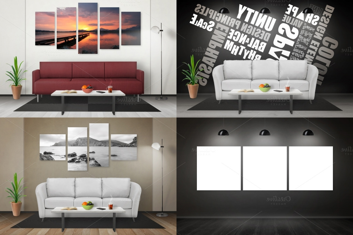 Best And Newest Mockup Canvas Wall Art Regarding Art Canvas Mockup Scene Creator – Rsplaneta – Graphic Design (View 11 of 15)