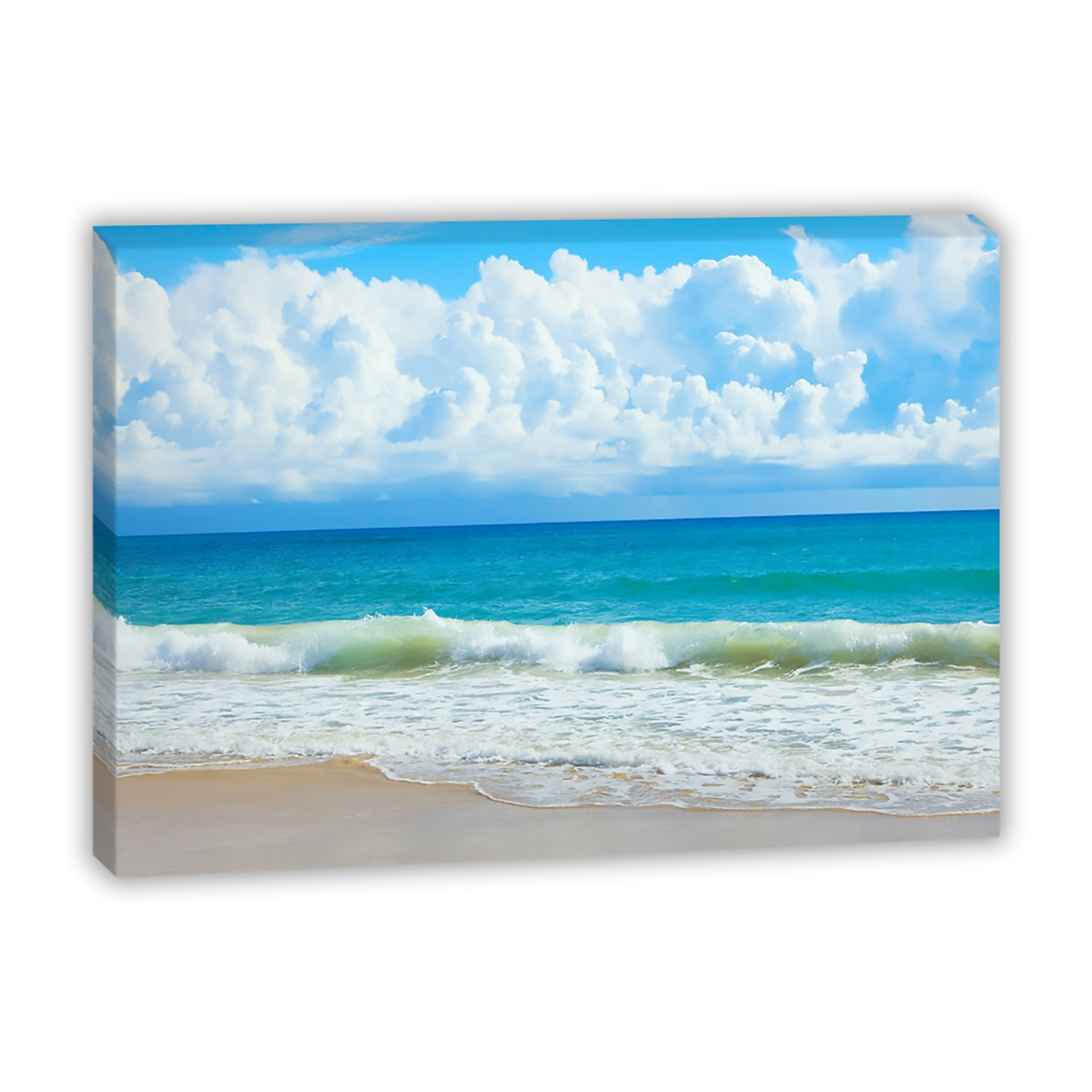 Best And Newest Queensland Beach – Canvas Print – Wall Art – Australia Within Queensland Canvas Wall Art (View 13 of 15)