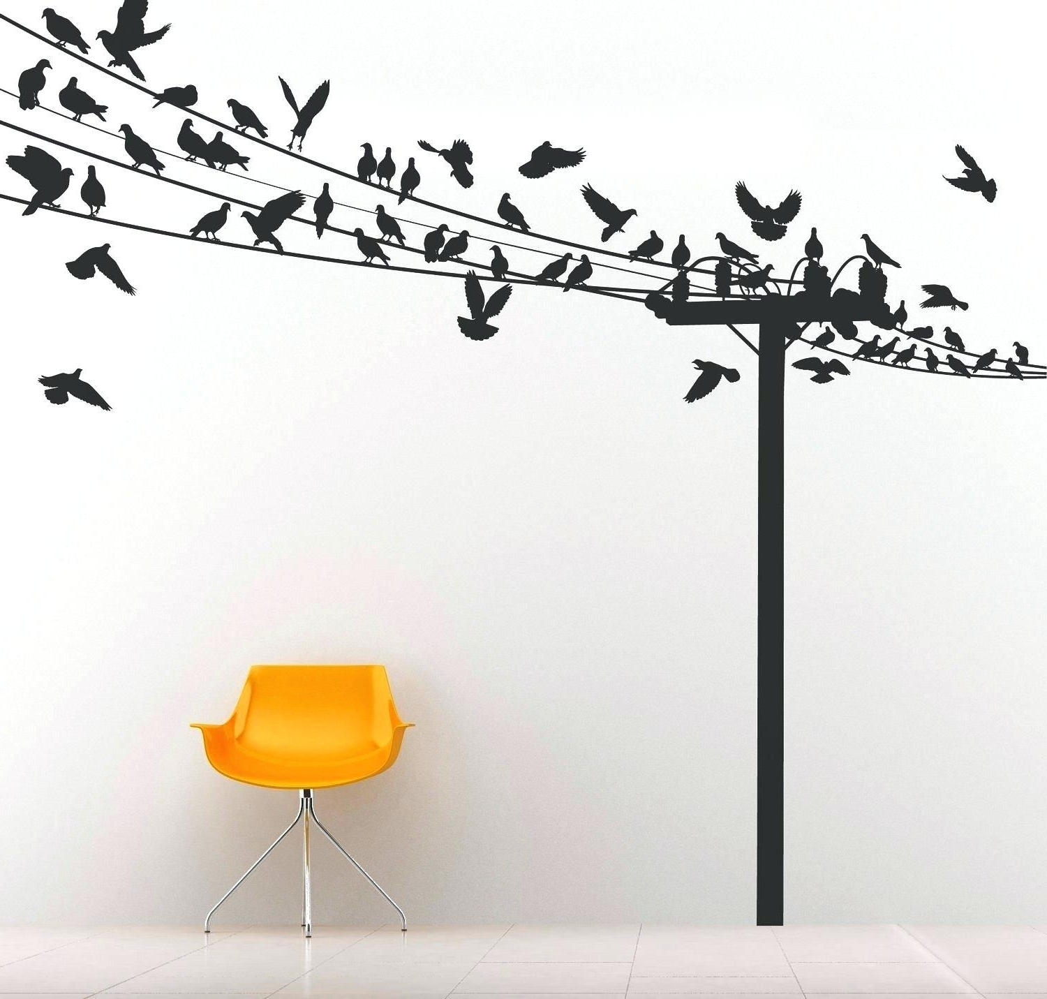 Bird Wall Decals For Nursery Wall Ideas Decorative Fabric Wall Art In Well Known Fabric Bird Wall Art (View 3 of 15)