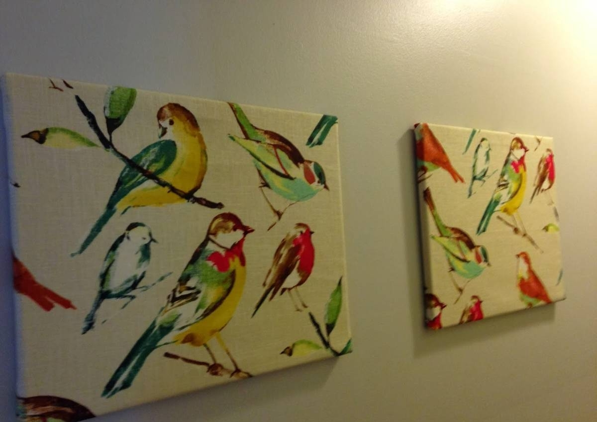 Birds Canvas Wall Art With Most Popular Birds Canvas Hallway Wall Art Ideas : Beautiful Hallway Wall Art (View 3 of 15)