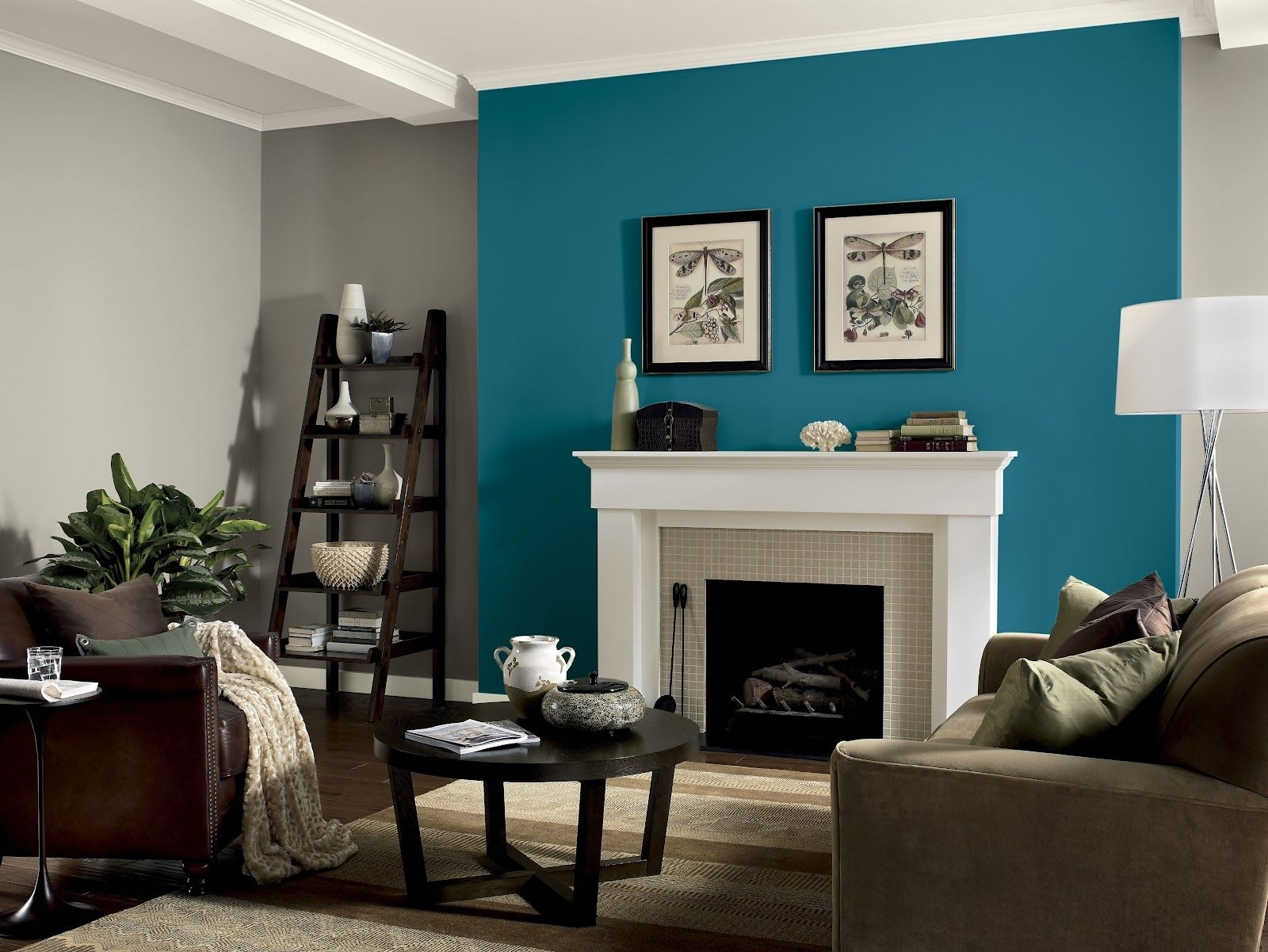 Black Accents, Barn Doors And Coca Cola Within Famous Light Blue Wall Accents (View 5 of 15)