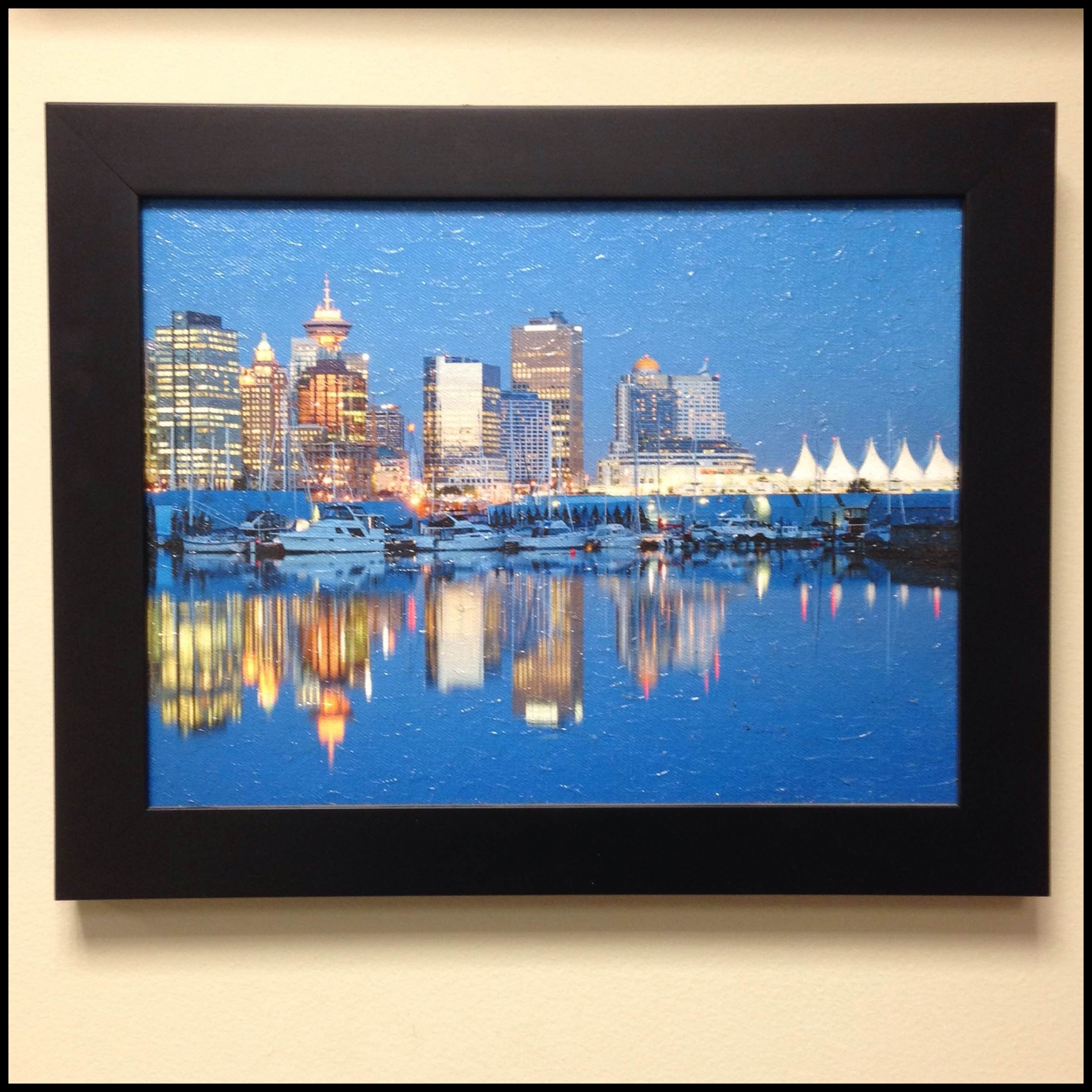 Black Framed Art Prints Regarding Trendy Selecting The Best Frame For Your Canvas Print Or Fine Art (Gallery 7 of 15)