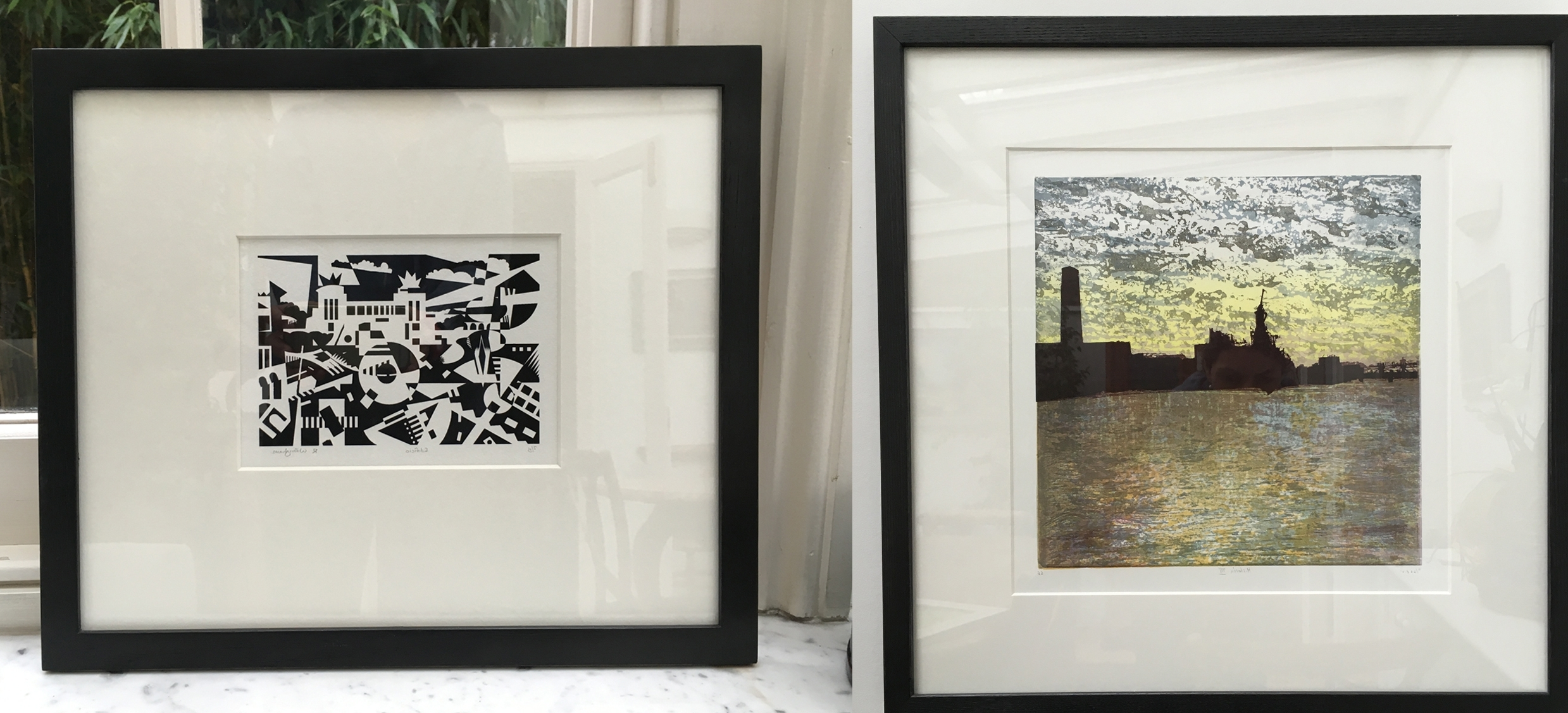 Black Framed Art Prints Within Latest How To Frame Prints – Print Solo (View 6 of 15)