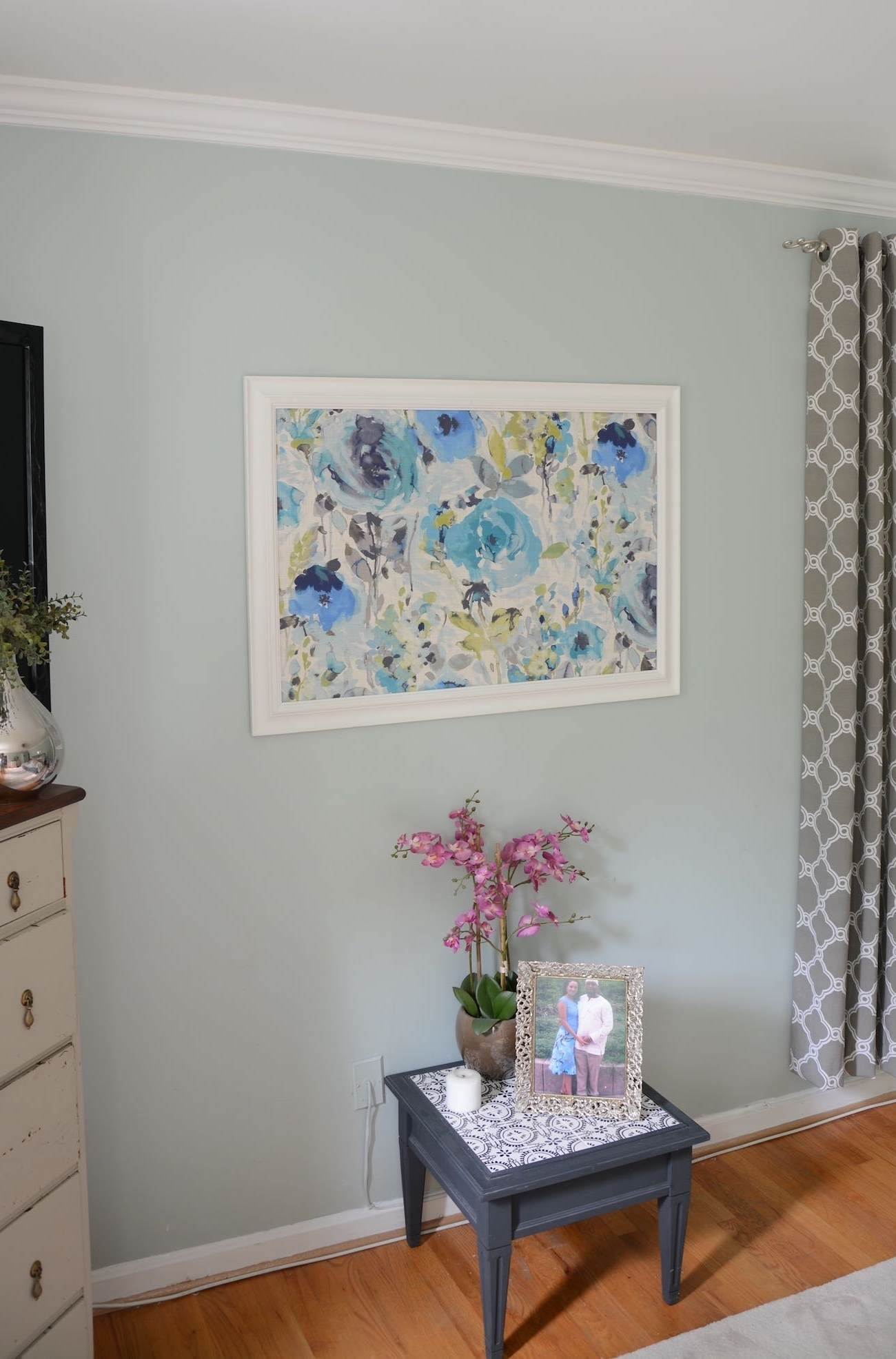 Blue Fabric Wall Art With Regard To Most Recently Released Accessories. Frame Wall Art: How To Frame Fabric For Wall Art A (Gallery 11 of 15)