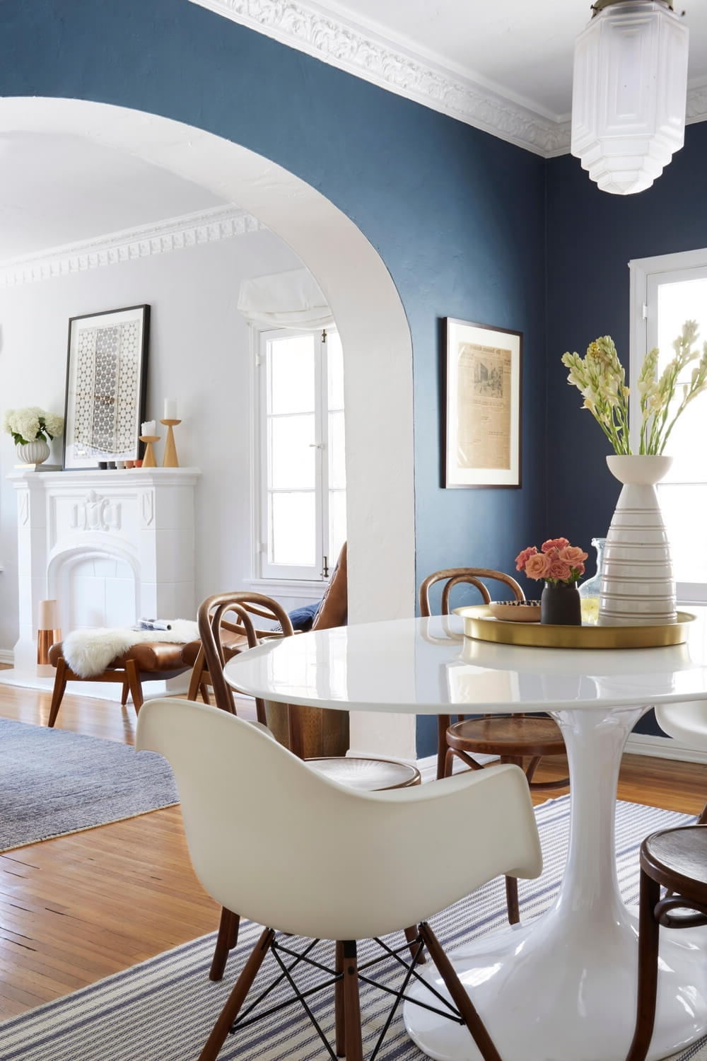 15 The Best Blue Wall Accents