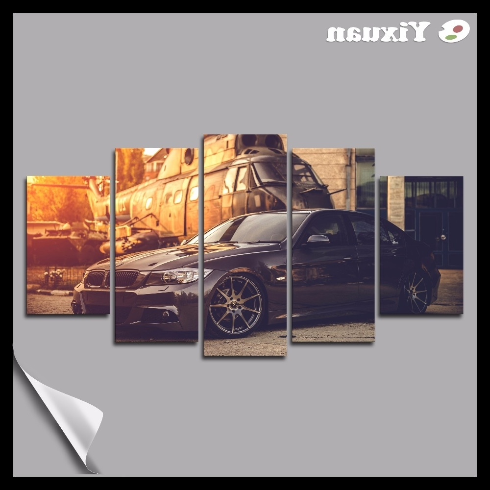 Bmw Canvas Wall Art Pertaining To Popular Compare Prices On Bmw Pictures Online Shopping/buy Low Price Bmw (View 9 of 15)