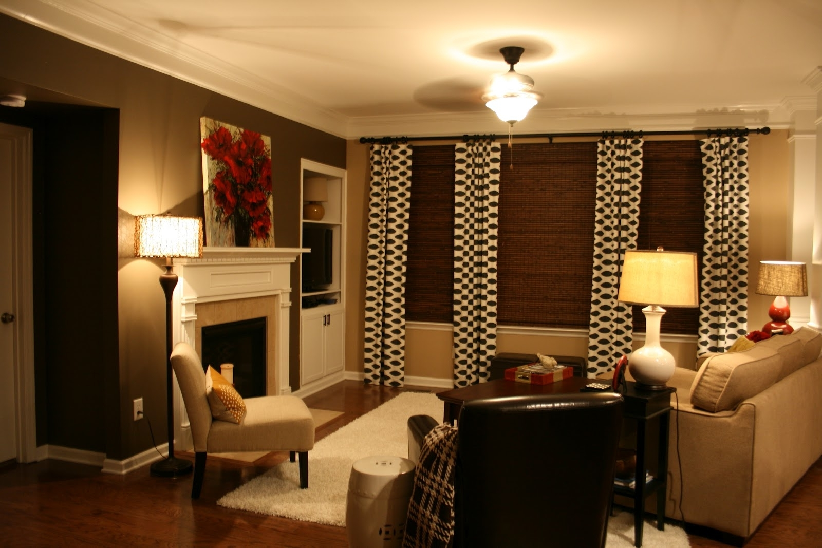 Brown Wall Accents Within Best And Newest Decoration. Paint And Accent Wall Ideas To Transform Your Room (Gallery 14 of 15)
