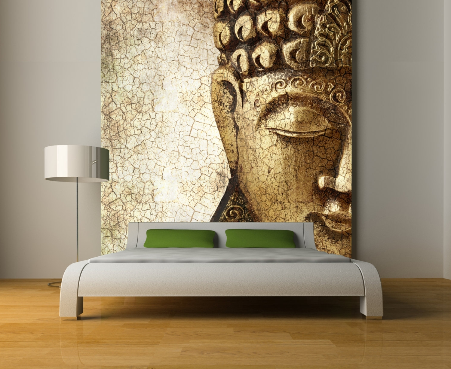 Buddha Wall Mural Repositionable Peel And Stick Wallstyleawall With Regard To Well Known Murals Wall Accents (View 3 of 15)