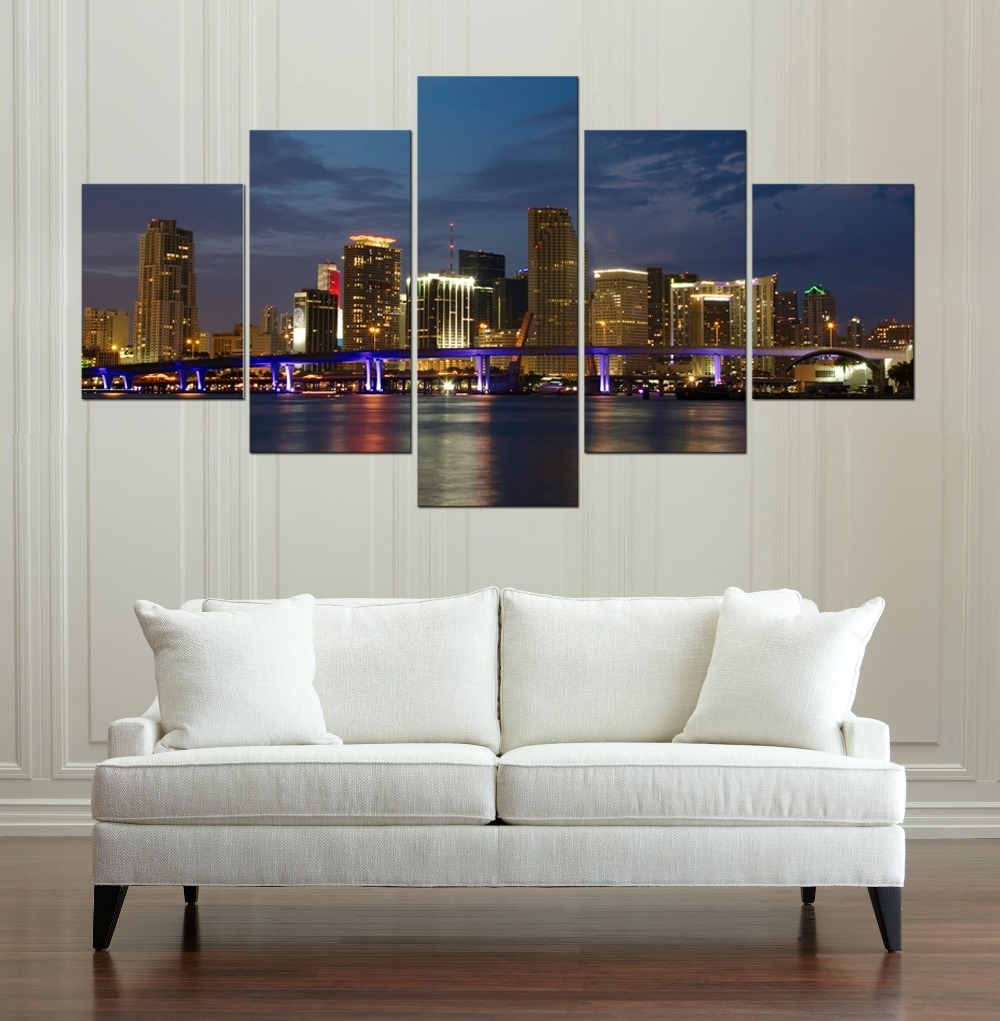 Buy Panorama Canvas And Get Free Shipping On Aliexpress With Trendy Panoramic Canvas Wall Art (View 2 of 15)