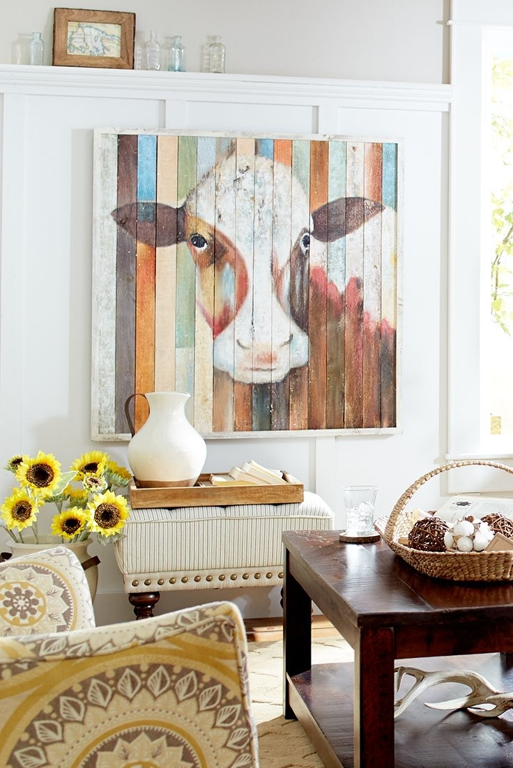Canvas Art Paintings Within Wall Accents Made From Pallets (View 10 of 15)