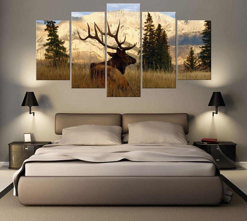 Canvas Art Prints Intended For Trendy Bedroom Canvas Wall Art (View 8 of 15)