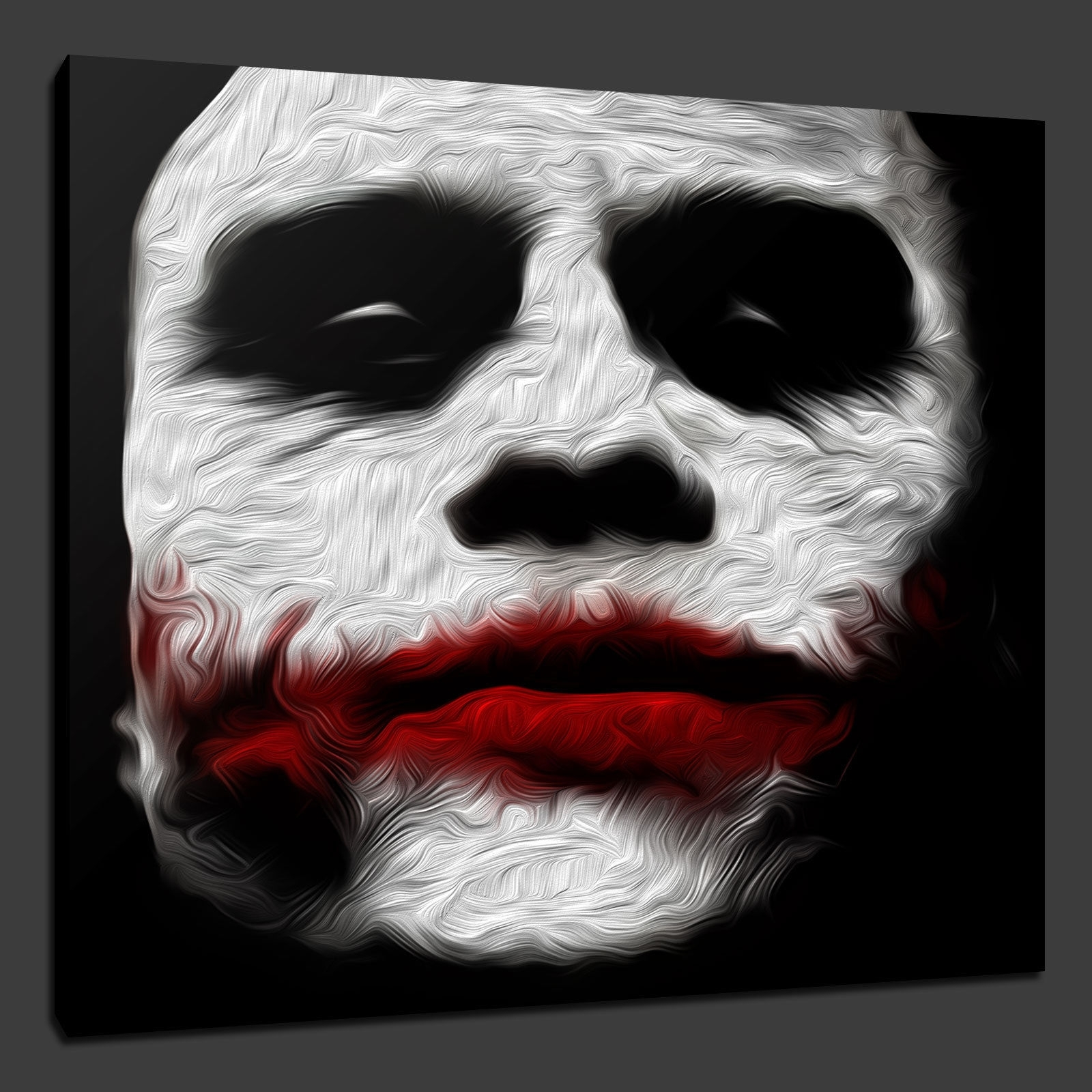 Canvas Print Pictures. High Quality, Handmade, Free Next Day Delivery. Regarding Best And Newest Joker Canvas Wall Art (Gallery 11 of 15)