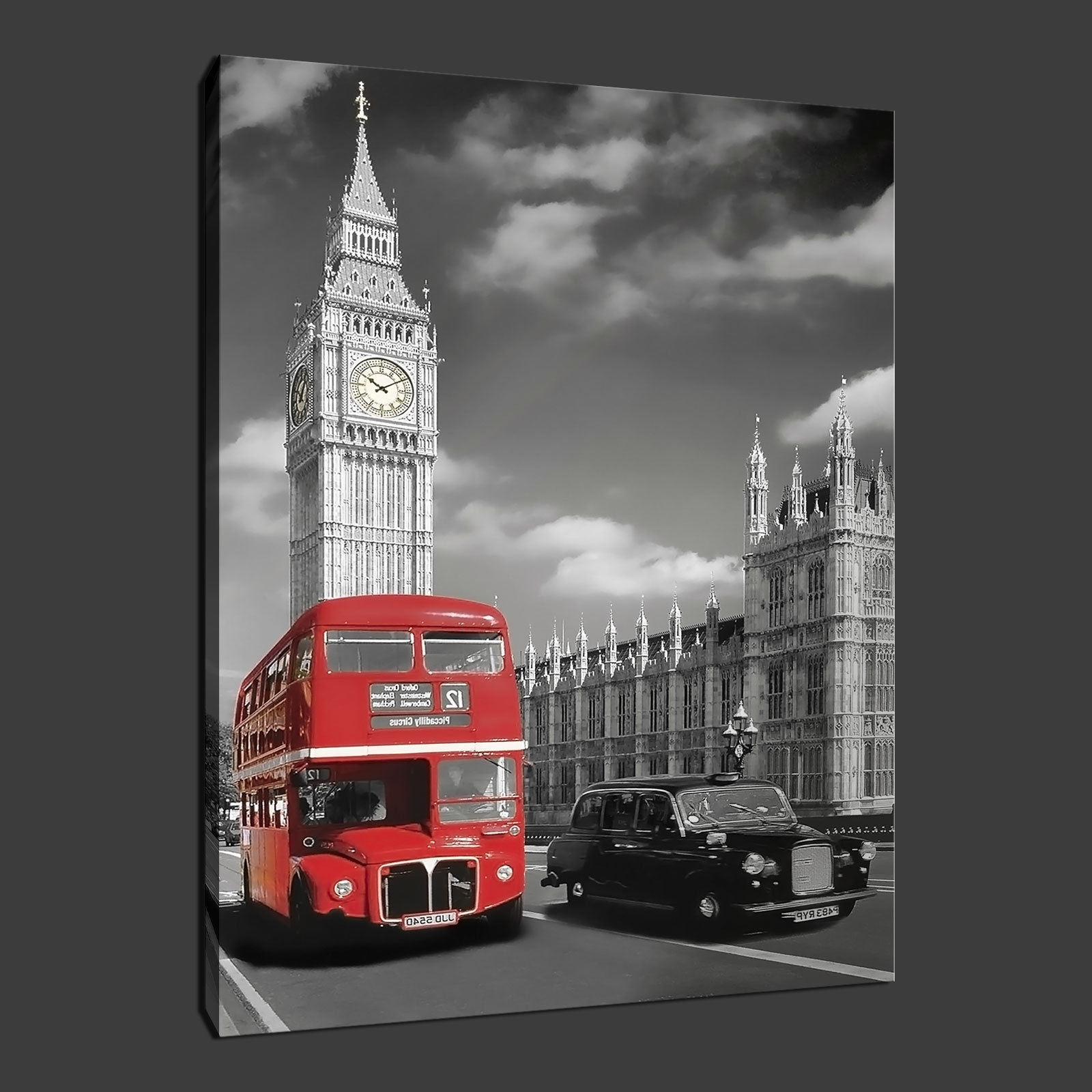 Canvas Print Pictures. High Quality, Handmade, Free Next Day Delivery. With Regard To Most Recently Released Canvas Wall Art Of London (Gallery 15 of 15)