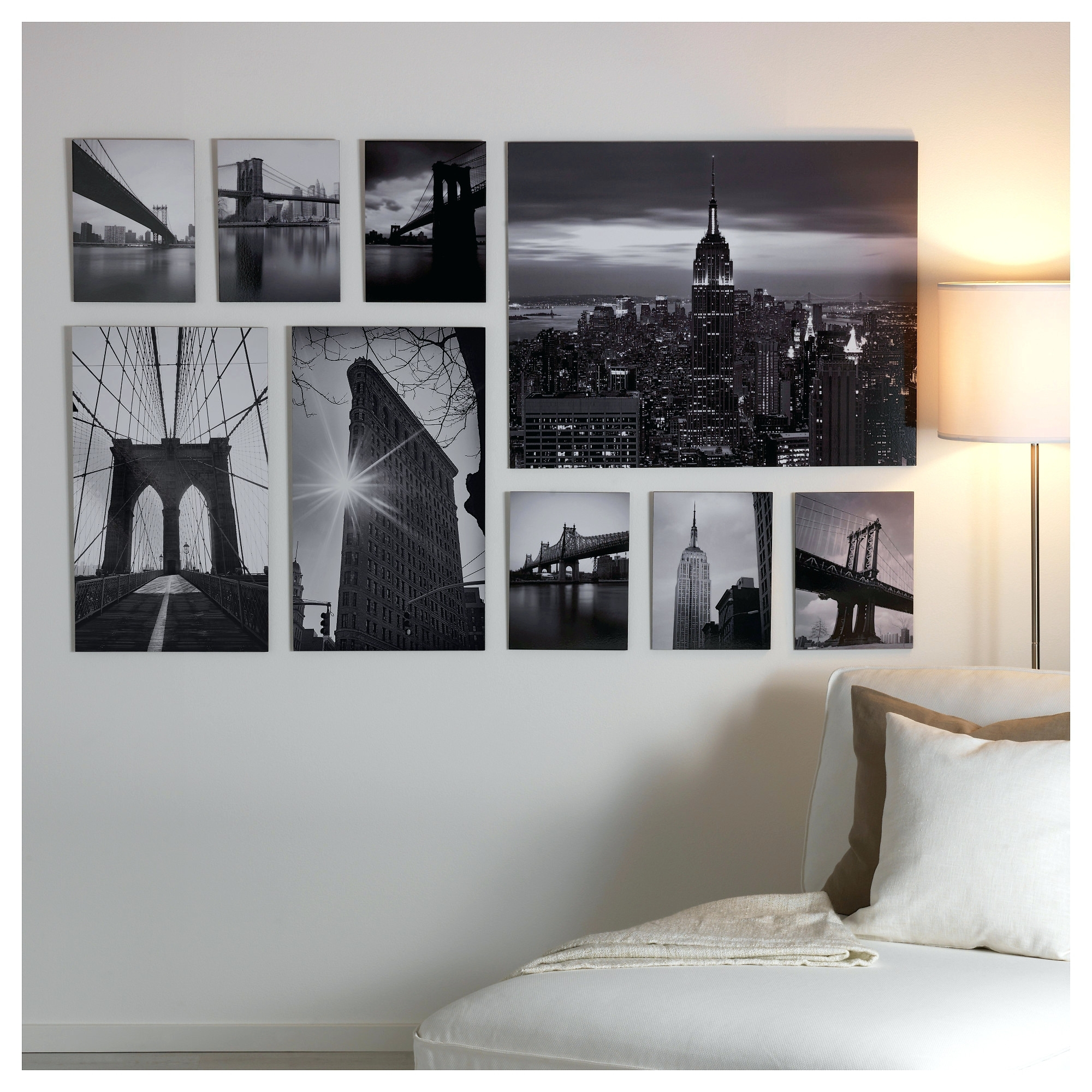 Canvas Wall Art At Ikea Pertaining To 2018 Wall Arts New York City Canvas Wall  Art