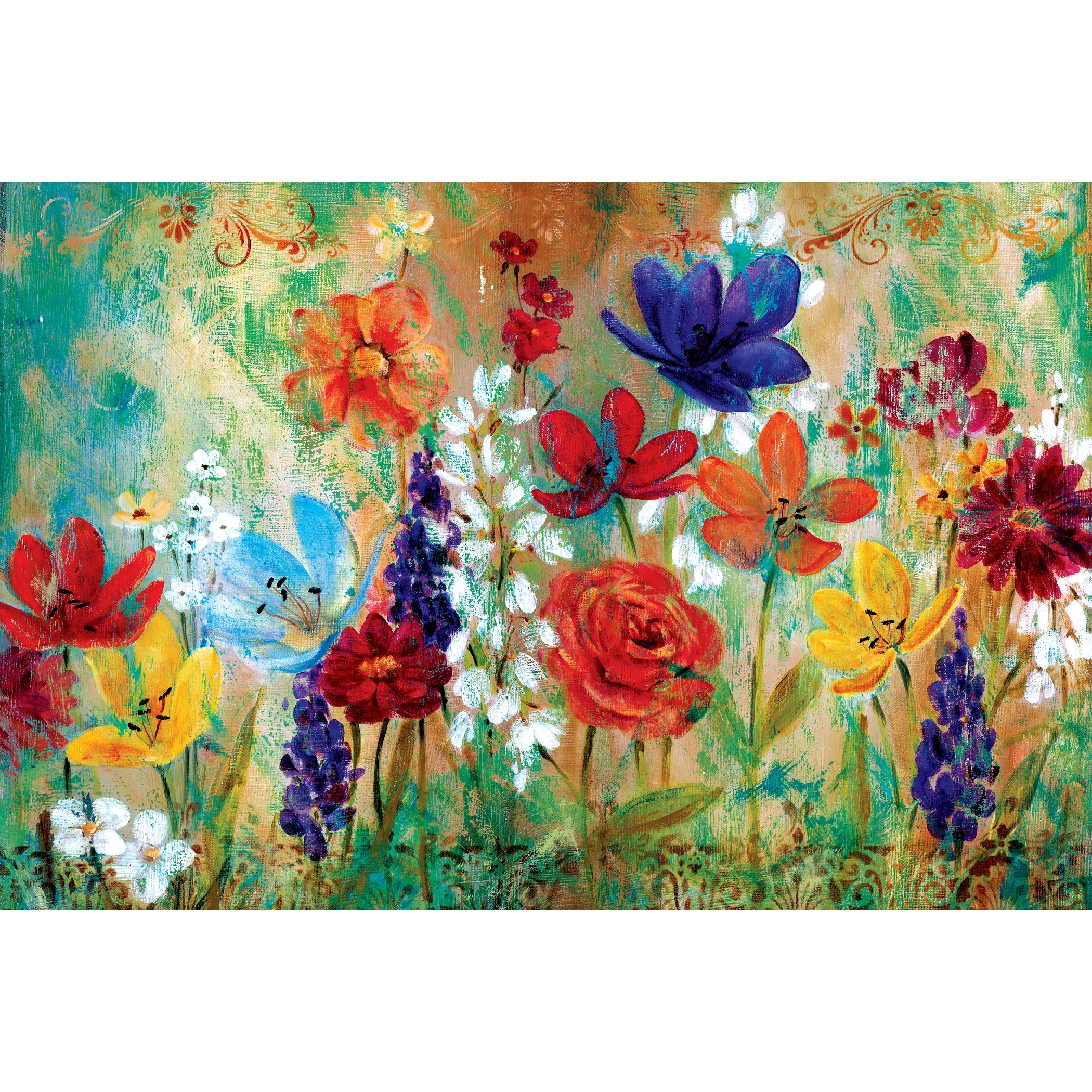 Canvas Wall Art At Wayfair Pertaining To Most Current Portfolio Canvas Decor Wildflower Fresco Ie (View 15 of 15)