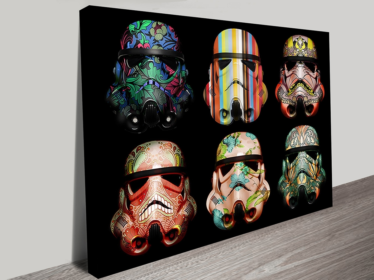 Canvas Wall Art Of Perth With Most Recent Warhol Style Star Wars Stormtrooper Pop Art Prints On Canvas (Gallery 13 of 15)