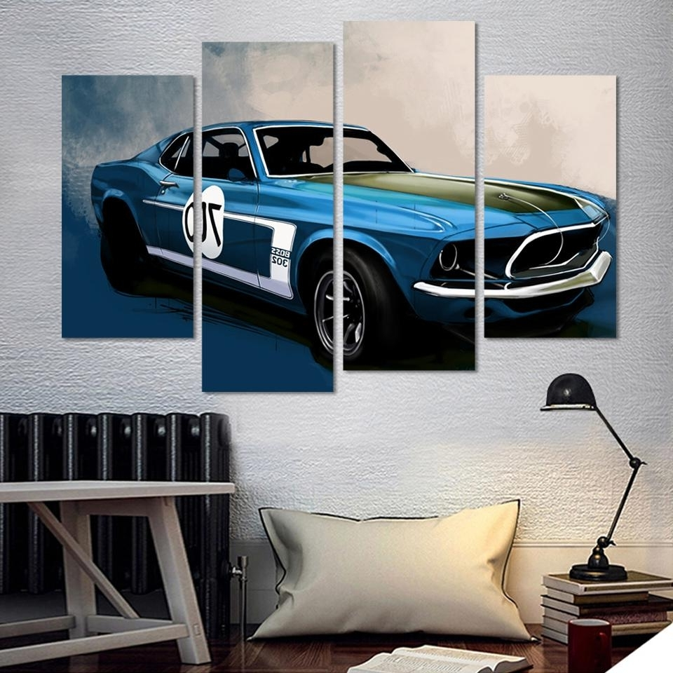 Car Canvas Art (Gallery 8 of 15)